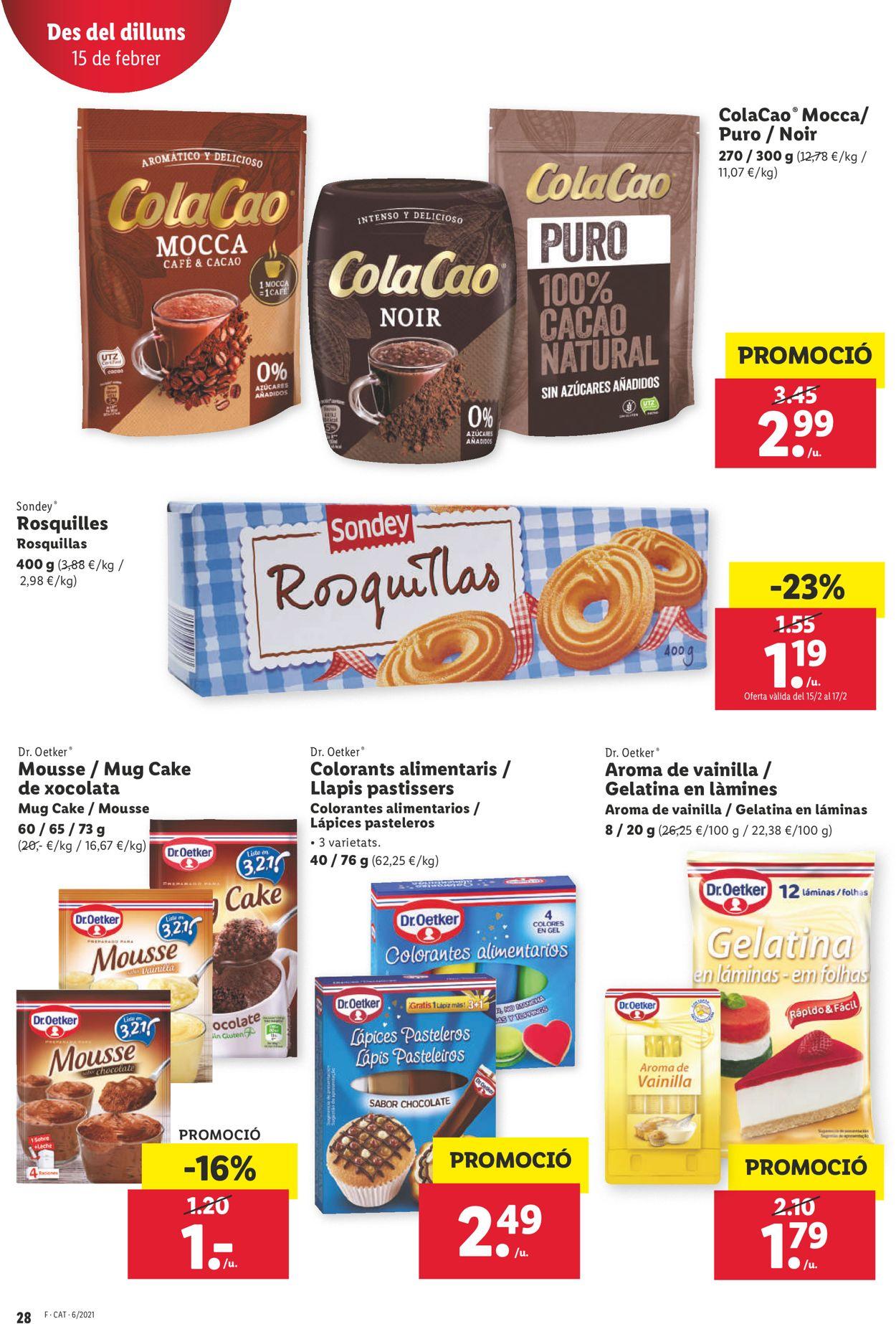 Lidl Folleto - 11.02-17.02.2021 (Página 28)