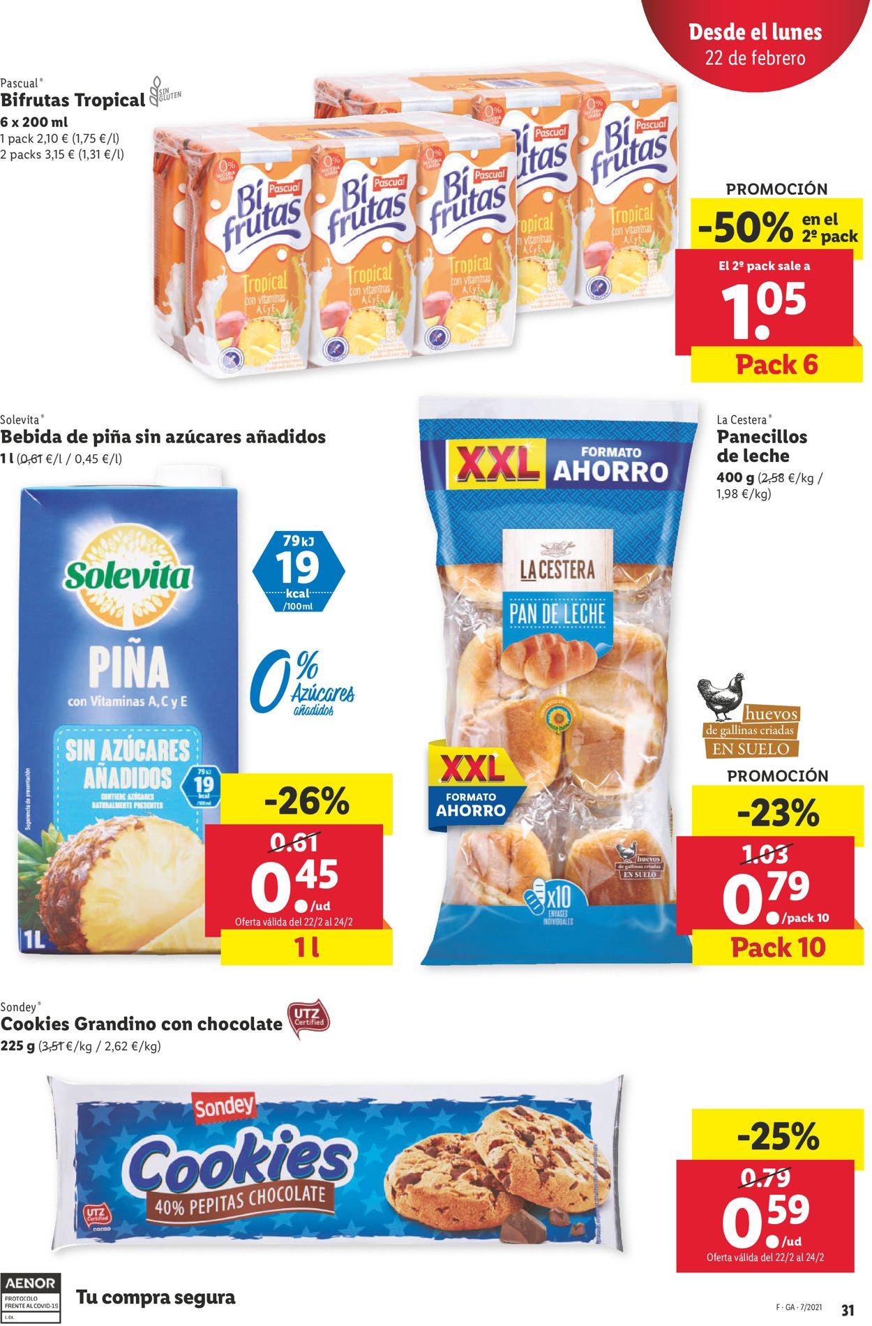 Lidl Folleto - 18.02-24.02.2021 (Página 31)