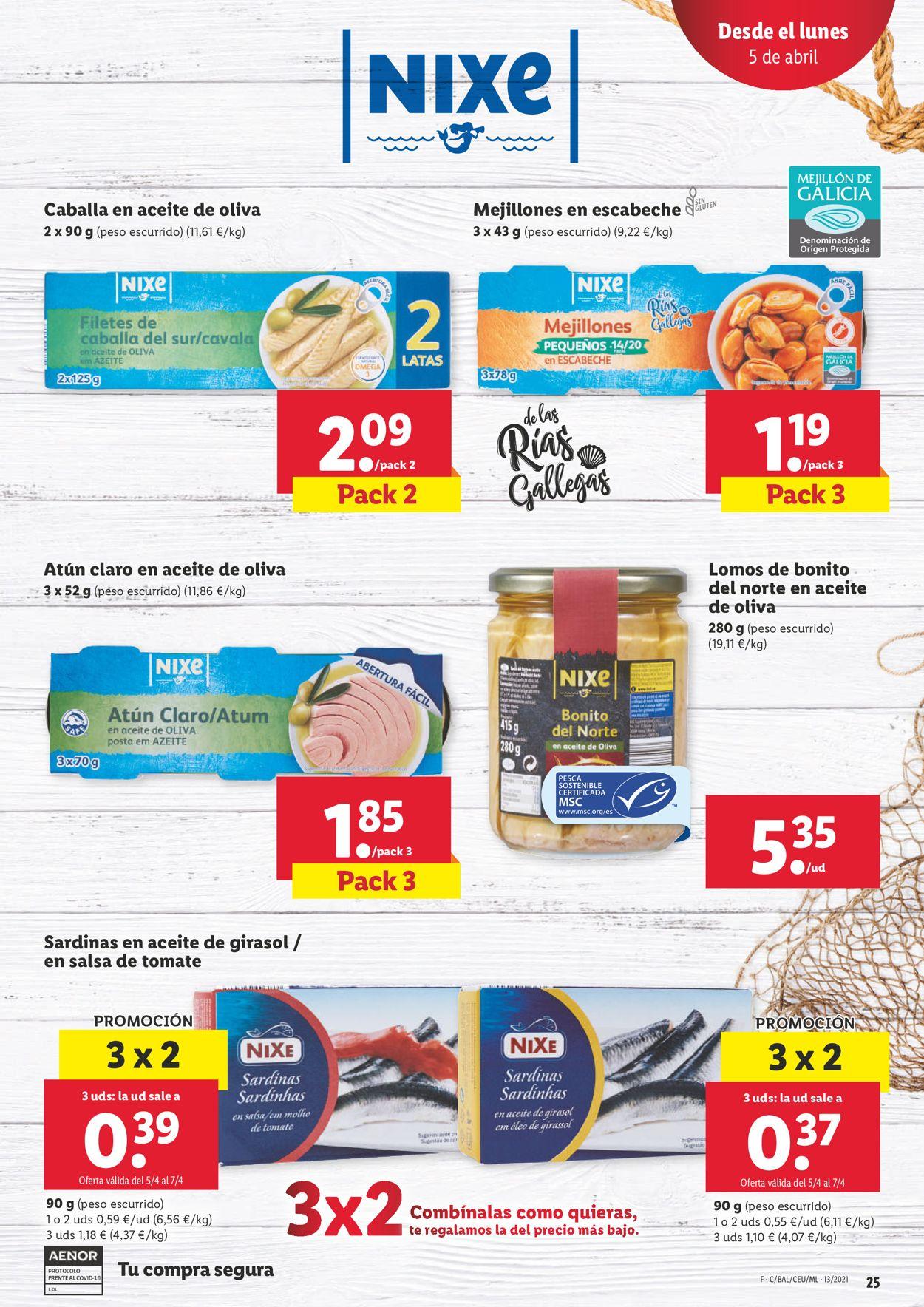 Lidl Folleto - 31.03-07.04.2021 (Página 25)