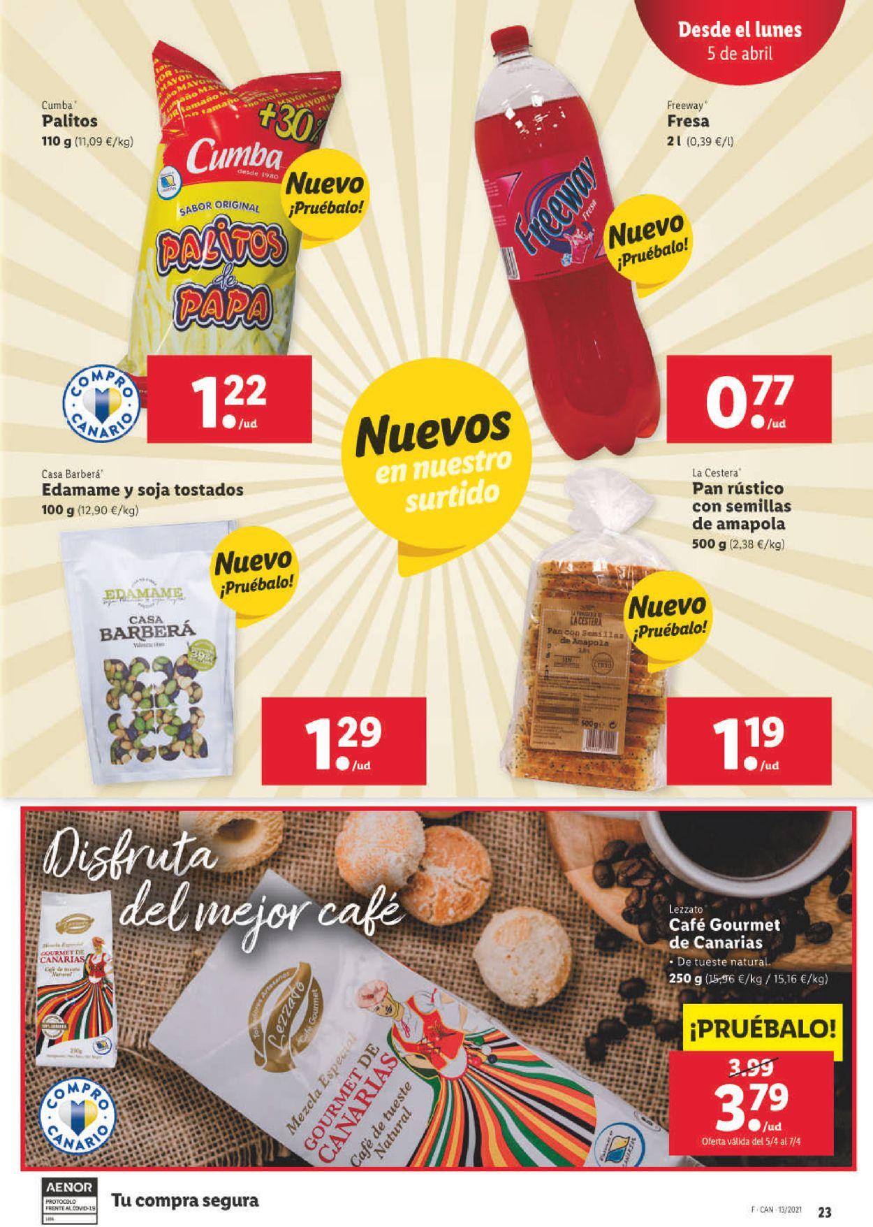 Lidl Folleto - 01.04-07.04.2021 (Página 27)