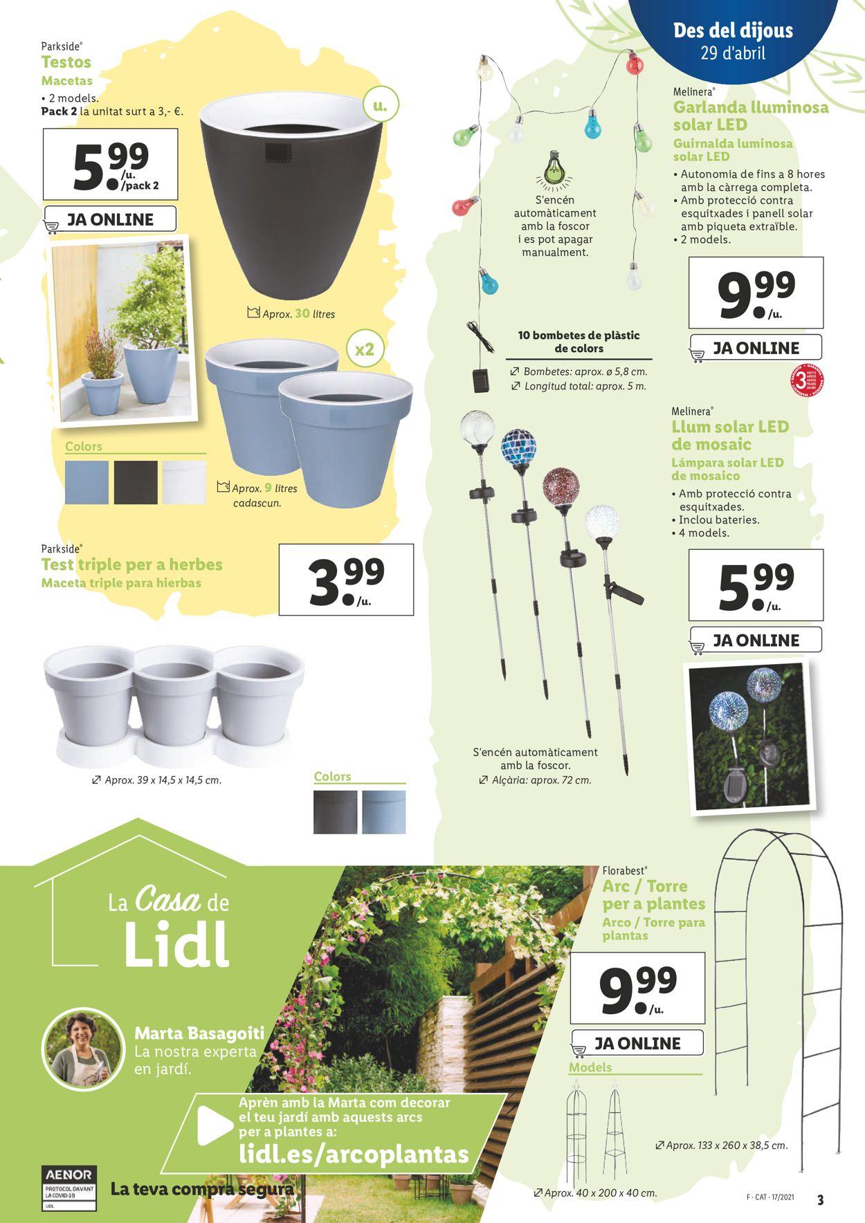 Lidl Folleto - 29.04-05.05.2021 (Página 3)