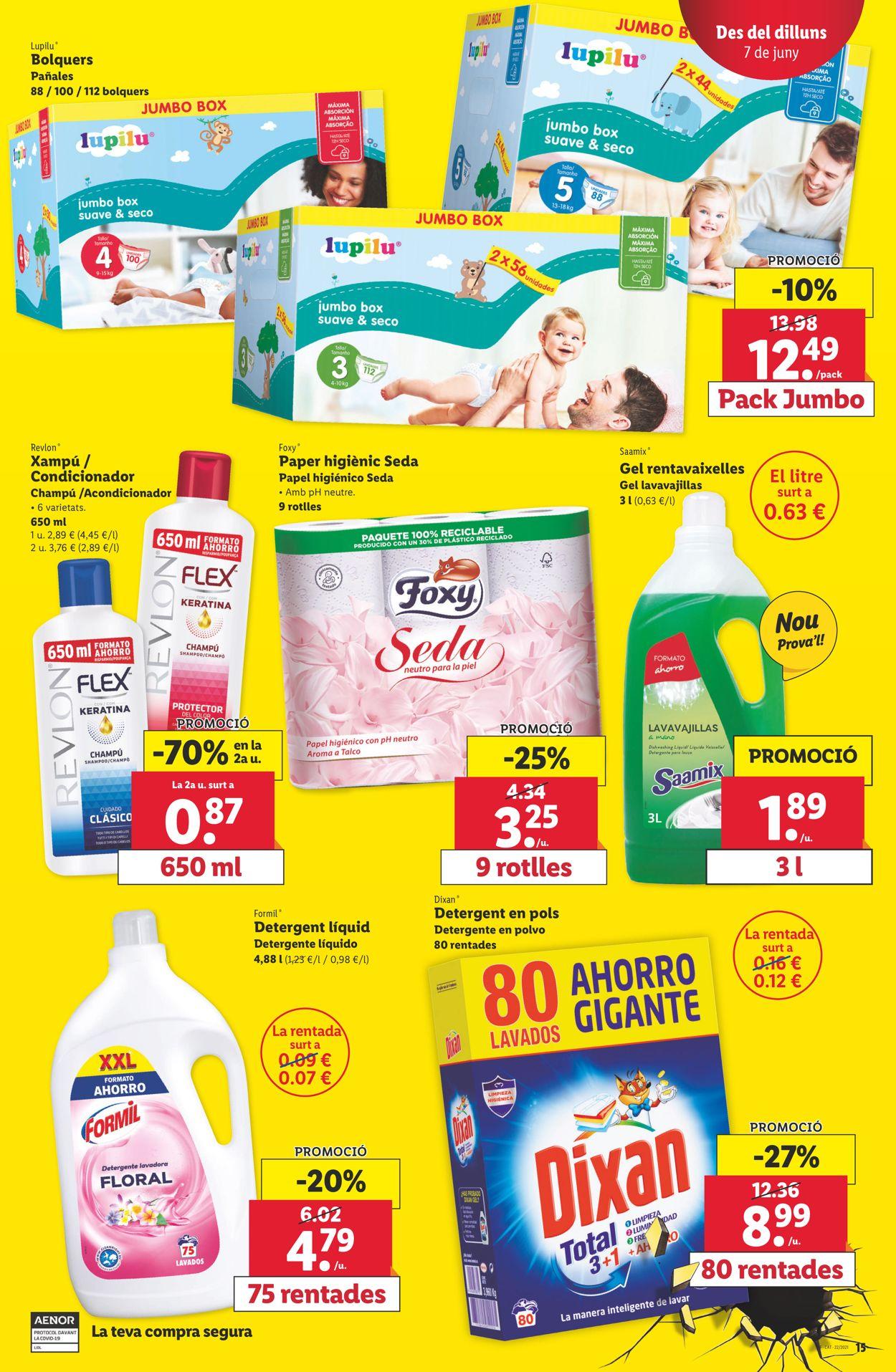 Lidl Folleto - 03.06-09.07.2021 (Página 15)