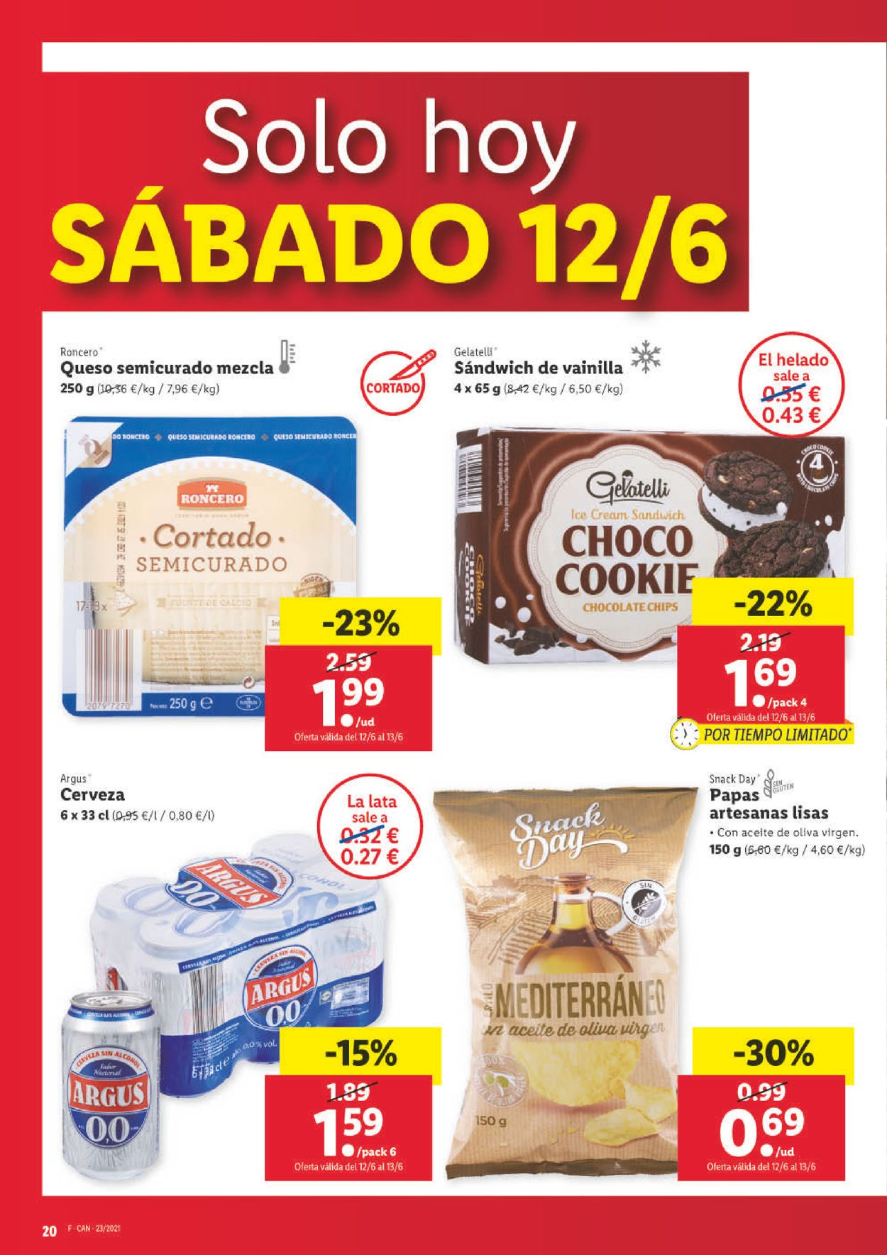 Lidl Folleto - 10.06-16.06.2021 (Página 20)