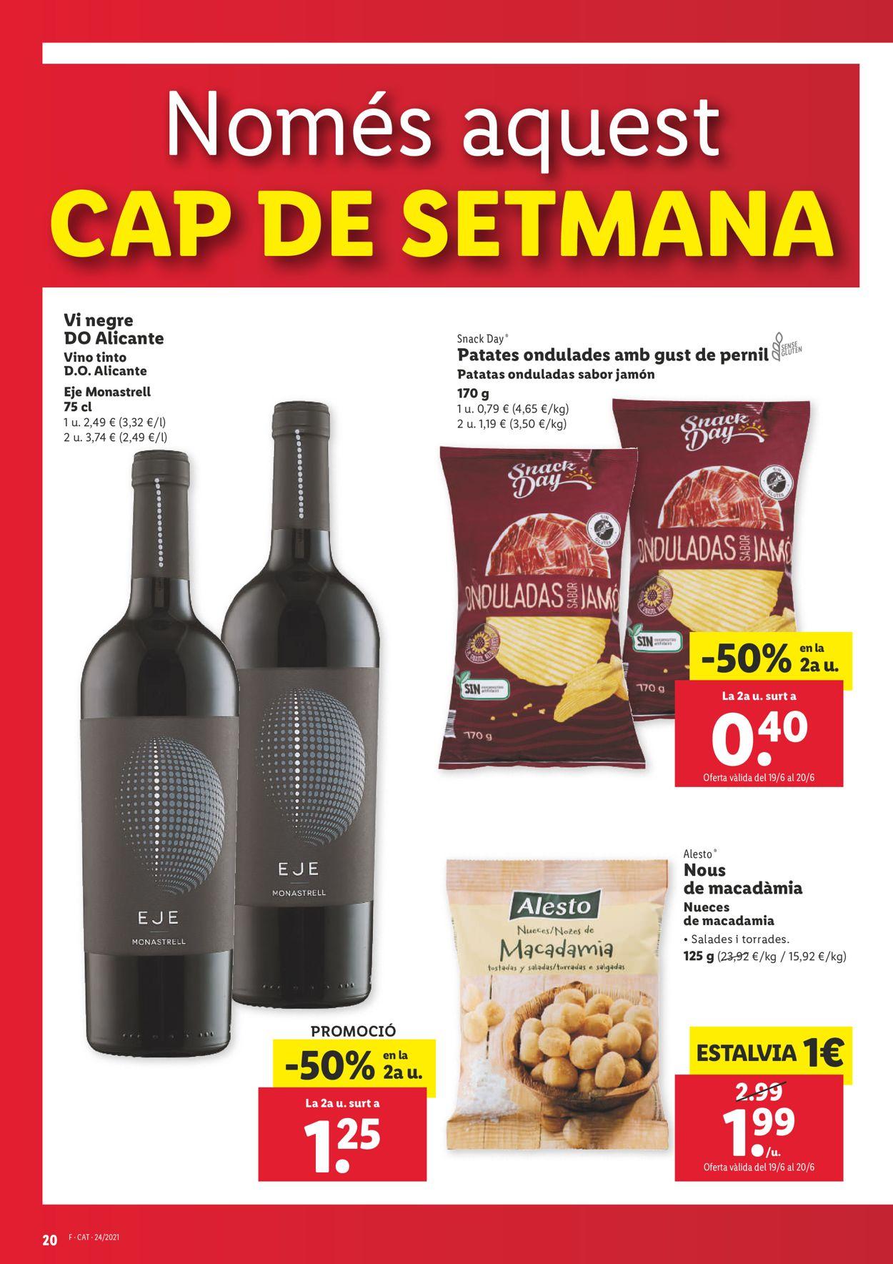 Lidl Folleto - 17.06-23.06.2021 (Página 20)