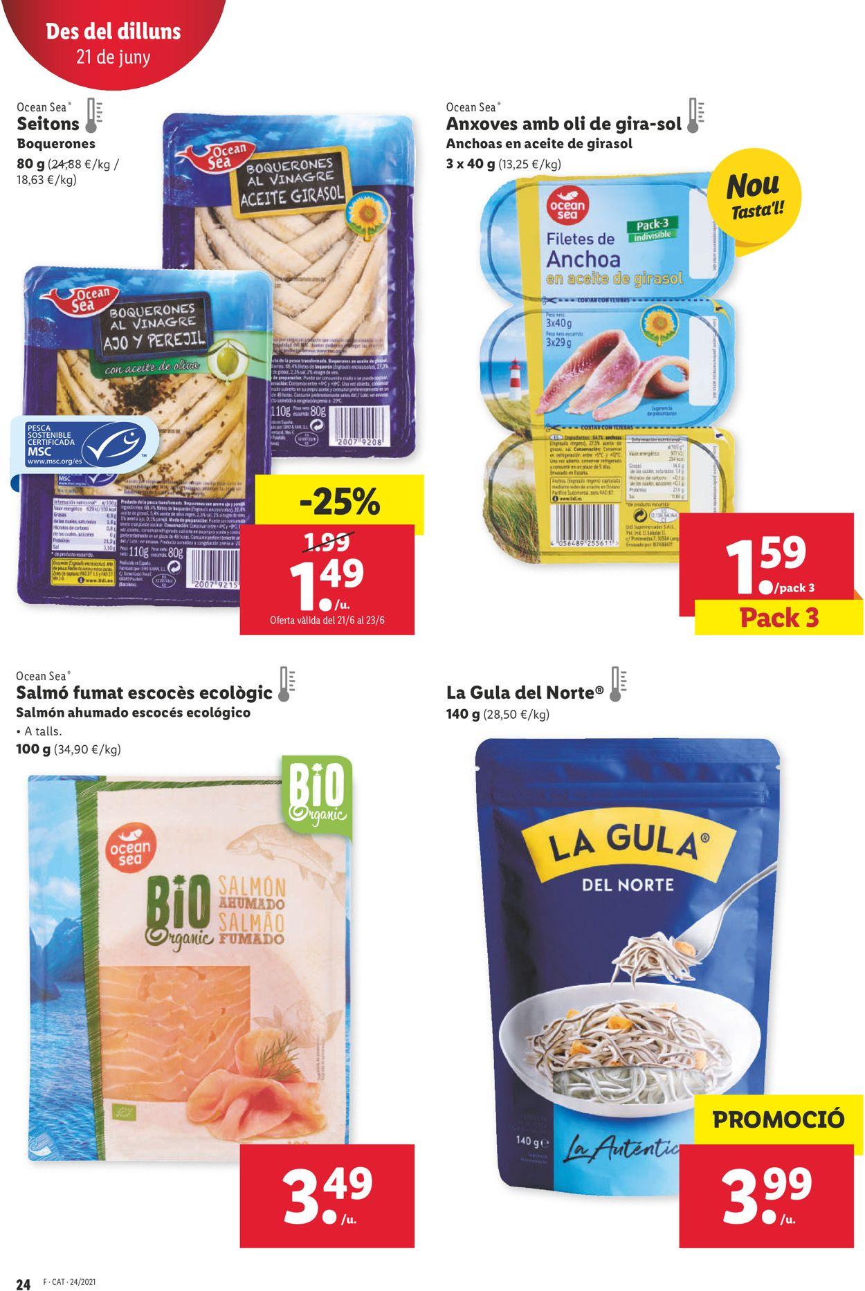 Lidl Folleto - 17.06-23.06.2021 (Página 24)