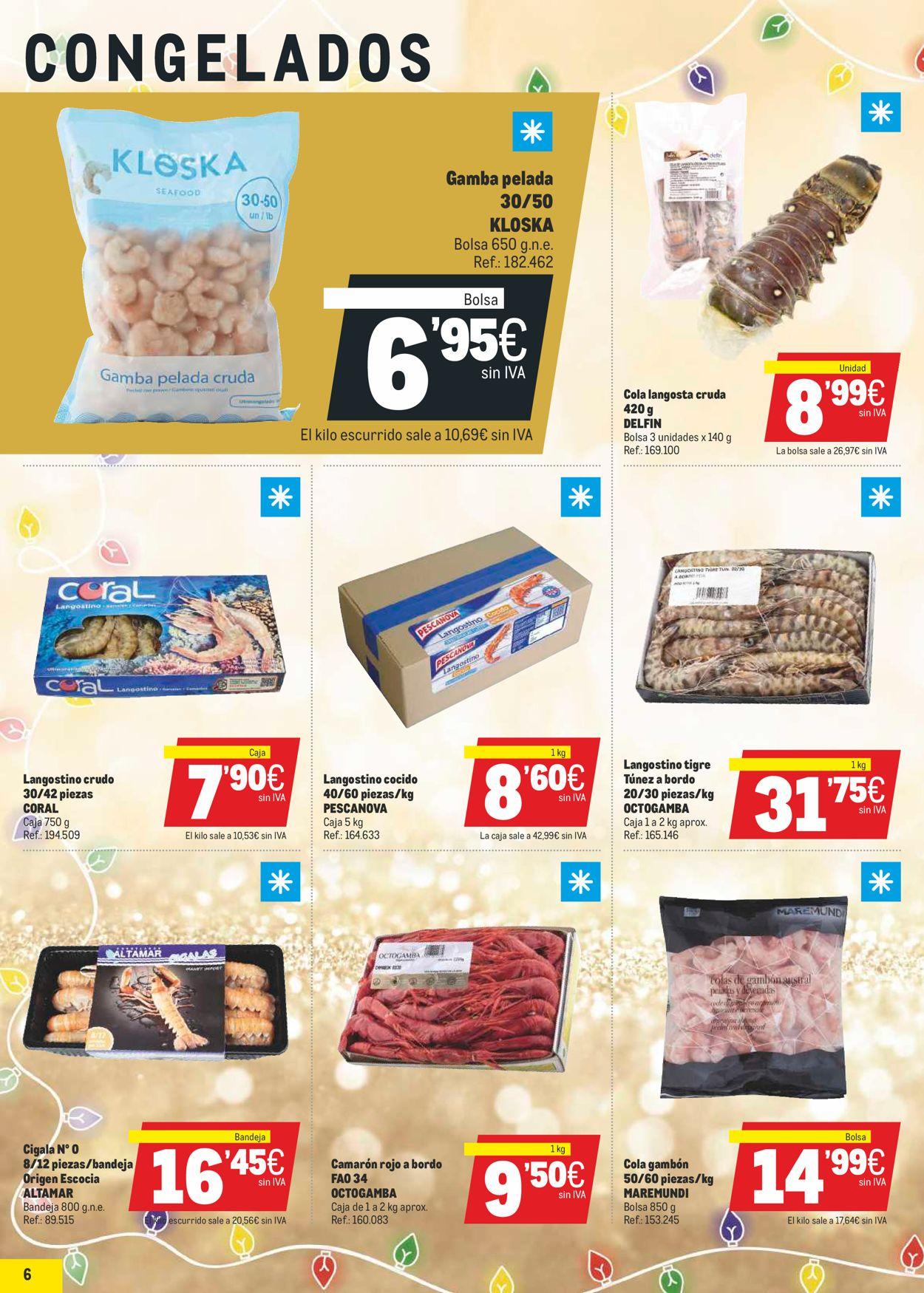 Makro La Navidad Mas Gastro 2020 Folleto - 17.12-05.01.2021 (Página 6)