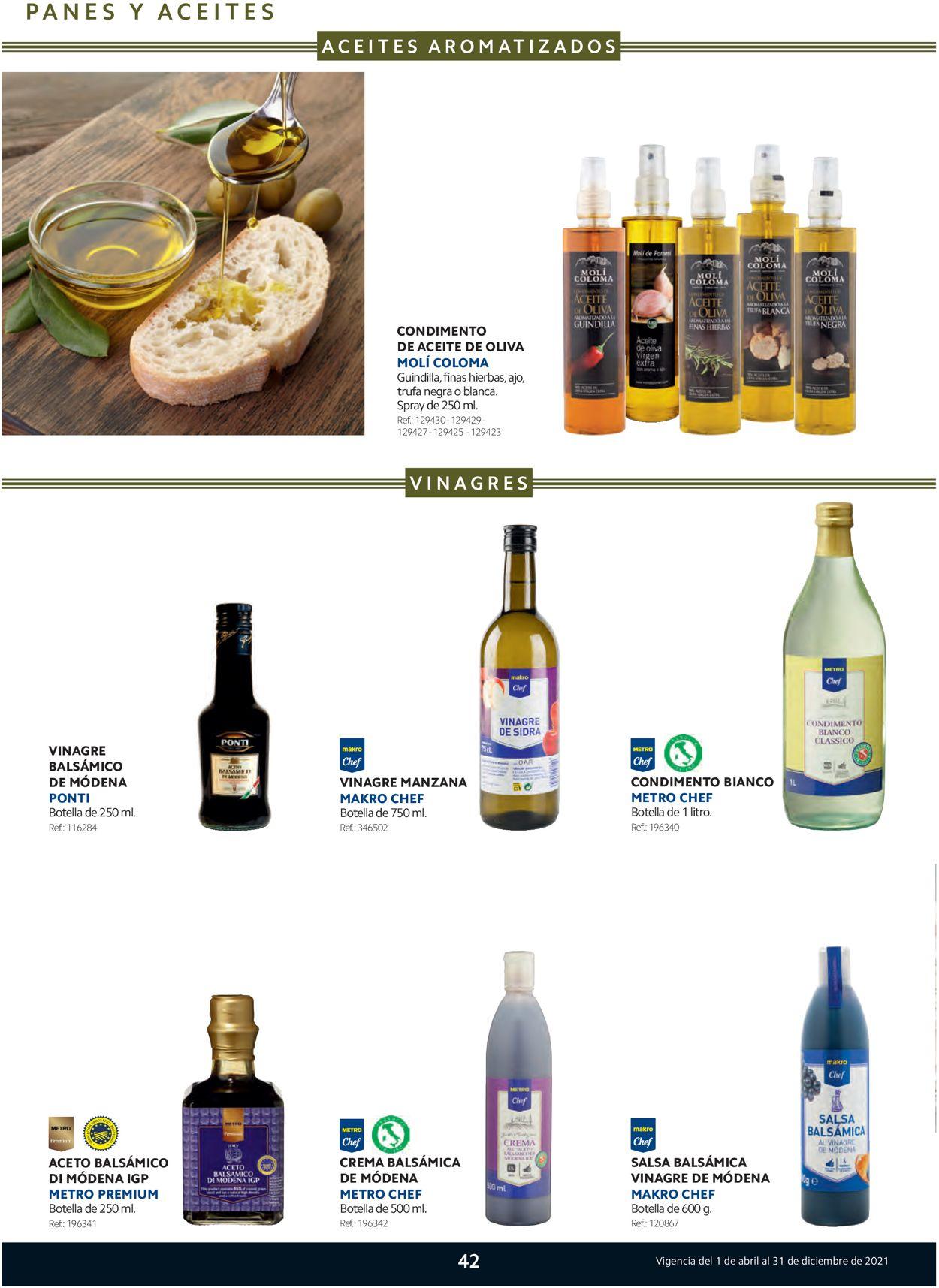 Makro Especial Italia Folleto - 01.04-31.12.2021 (Página 42)