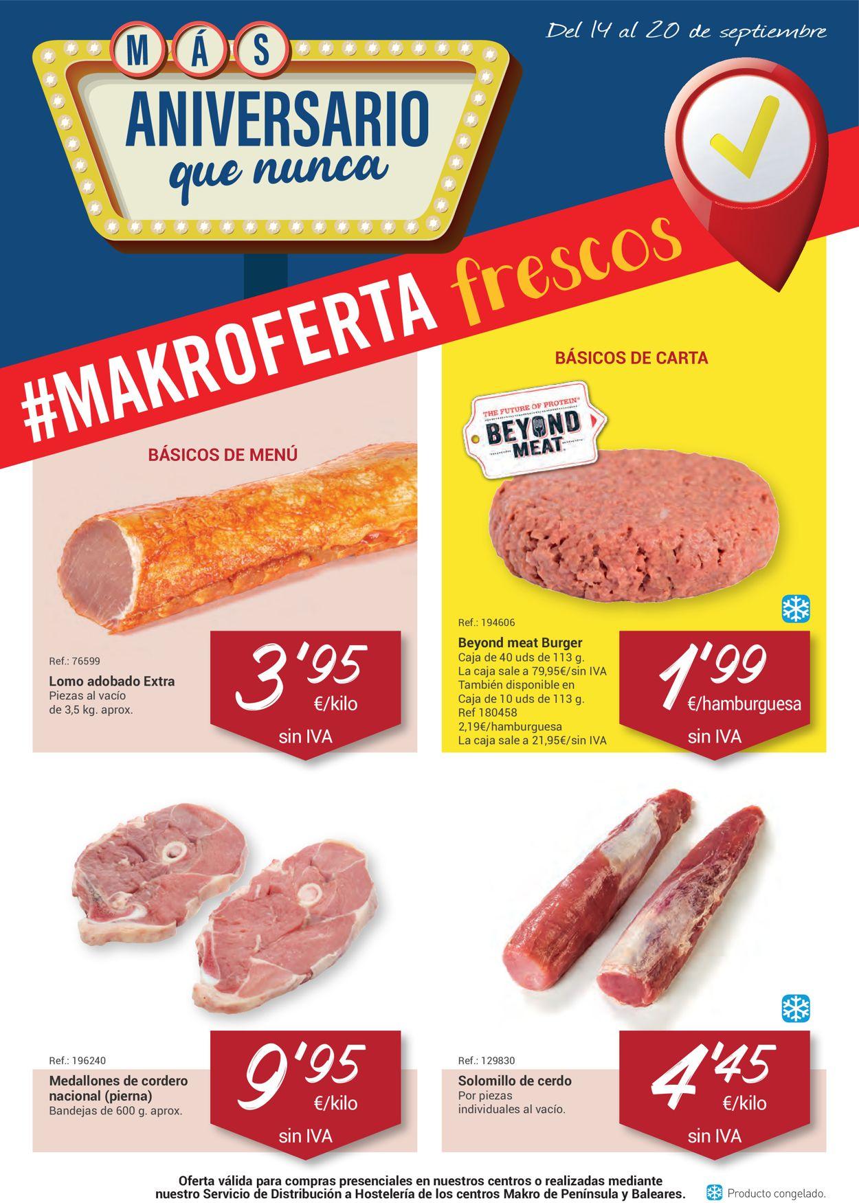 Makro Folleto - 14.09-20.09.2021