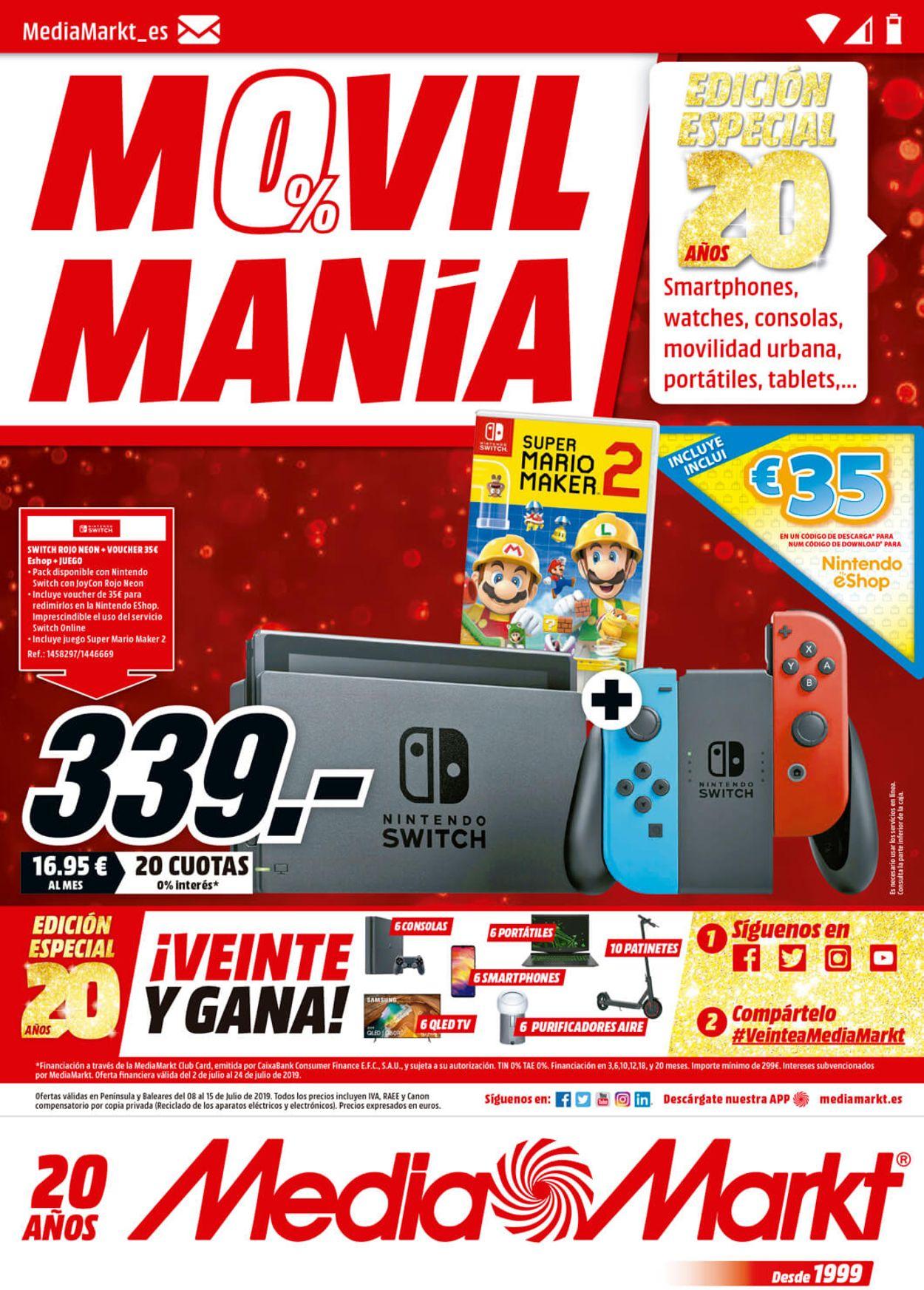 Media Markt Folleto - 08.07-15.07.2019 (Página 12)