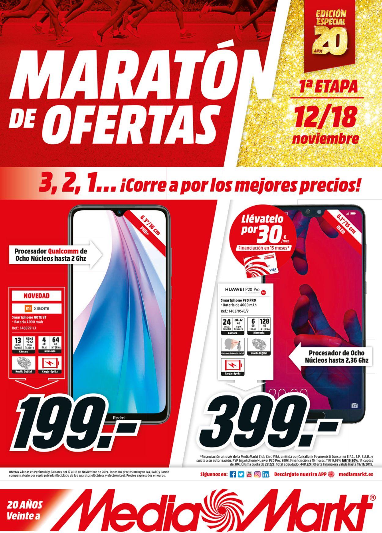 Media Markt Folleto - 12.11-18.11.2019