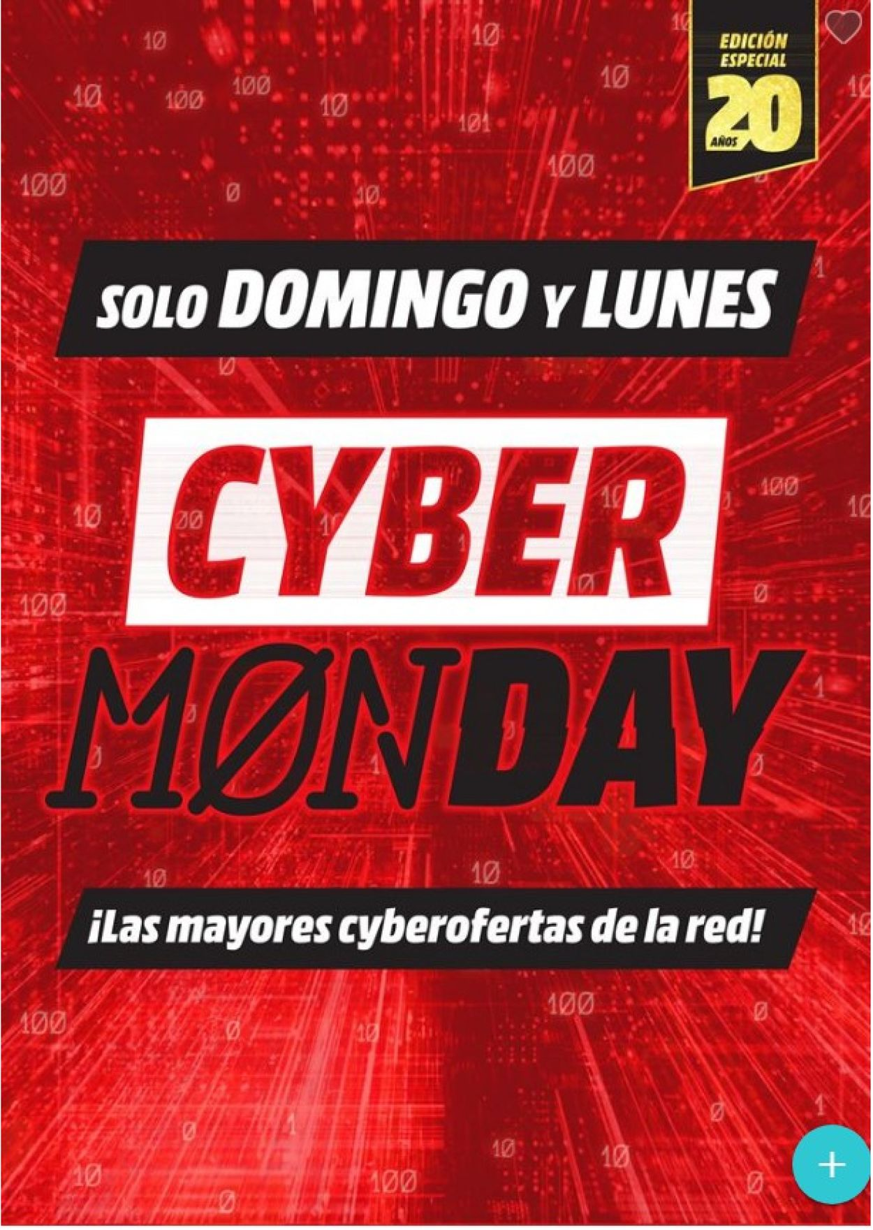 Media Markt - Cyber Monday 2019 Folleto - 01.12-02.12.2019