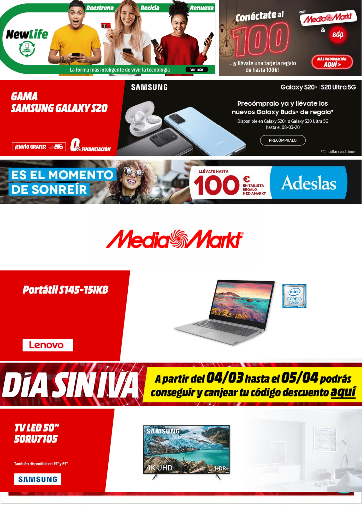Media Markt Folleto - 03.03-10.03.2020