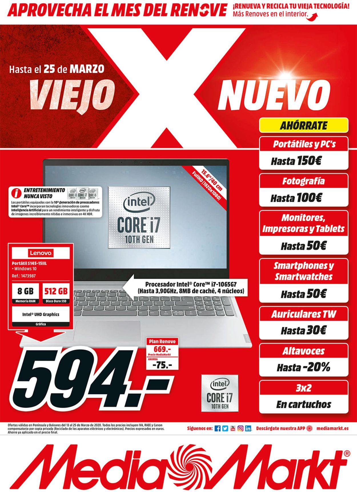 Media Markt Folleto - 16.03-25.03.2020