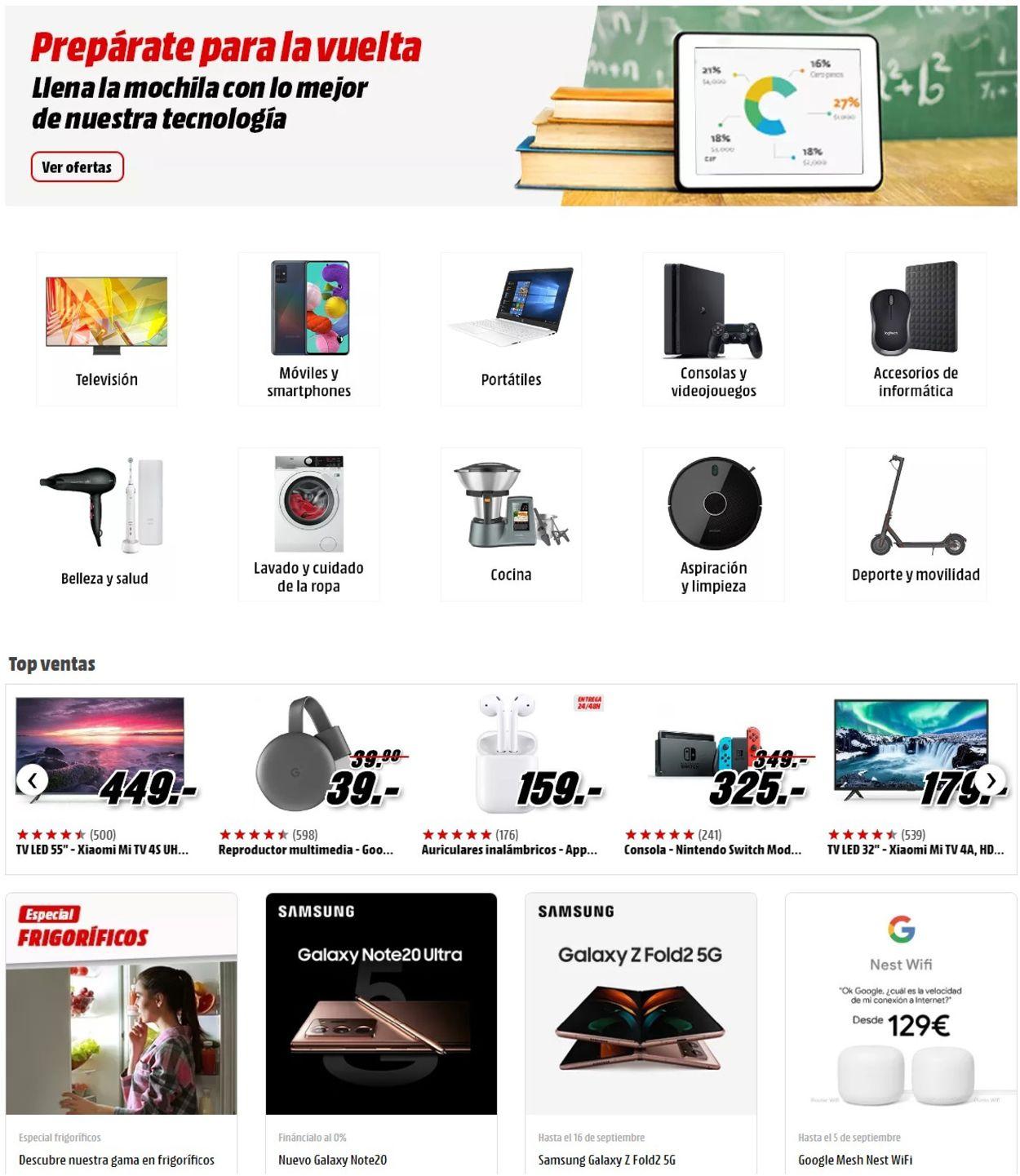 Media Markt Folleto - 04.09-10.09.2020