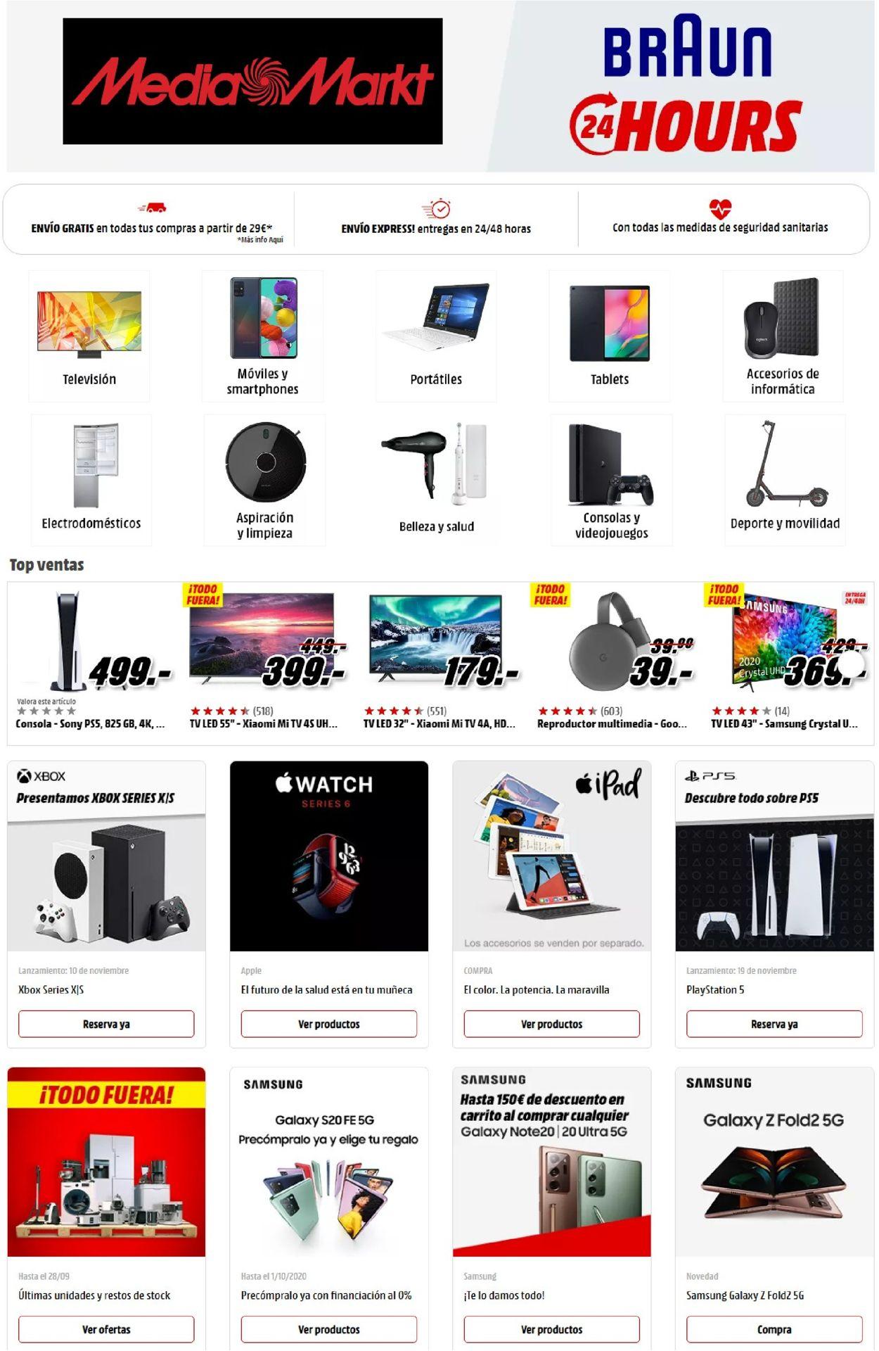 Media Markt Folleto - 25.09-02.10.2020