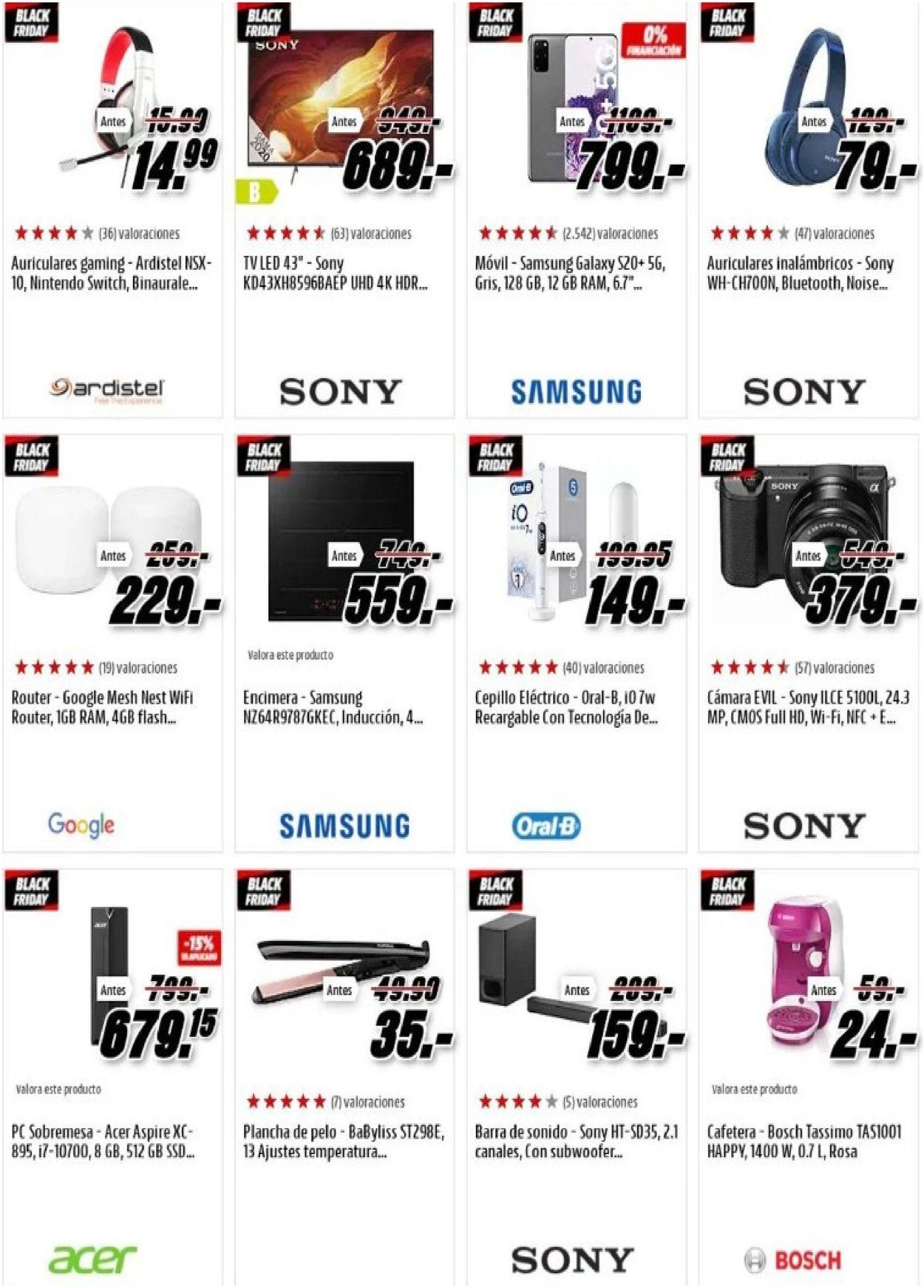 Media Markt - Black Friday 2020 Folleto - 20.11-26.11.2020 (Página 15)