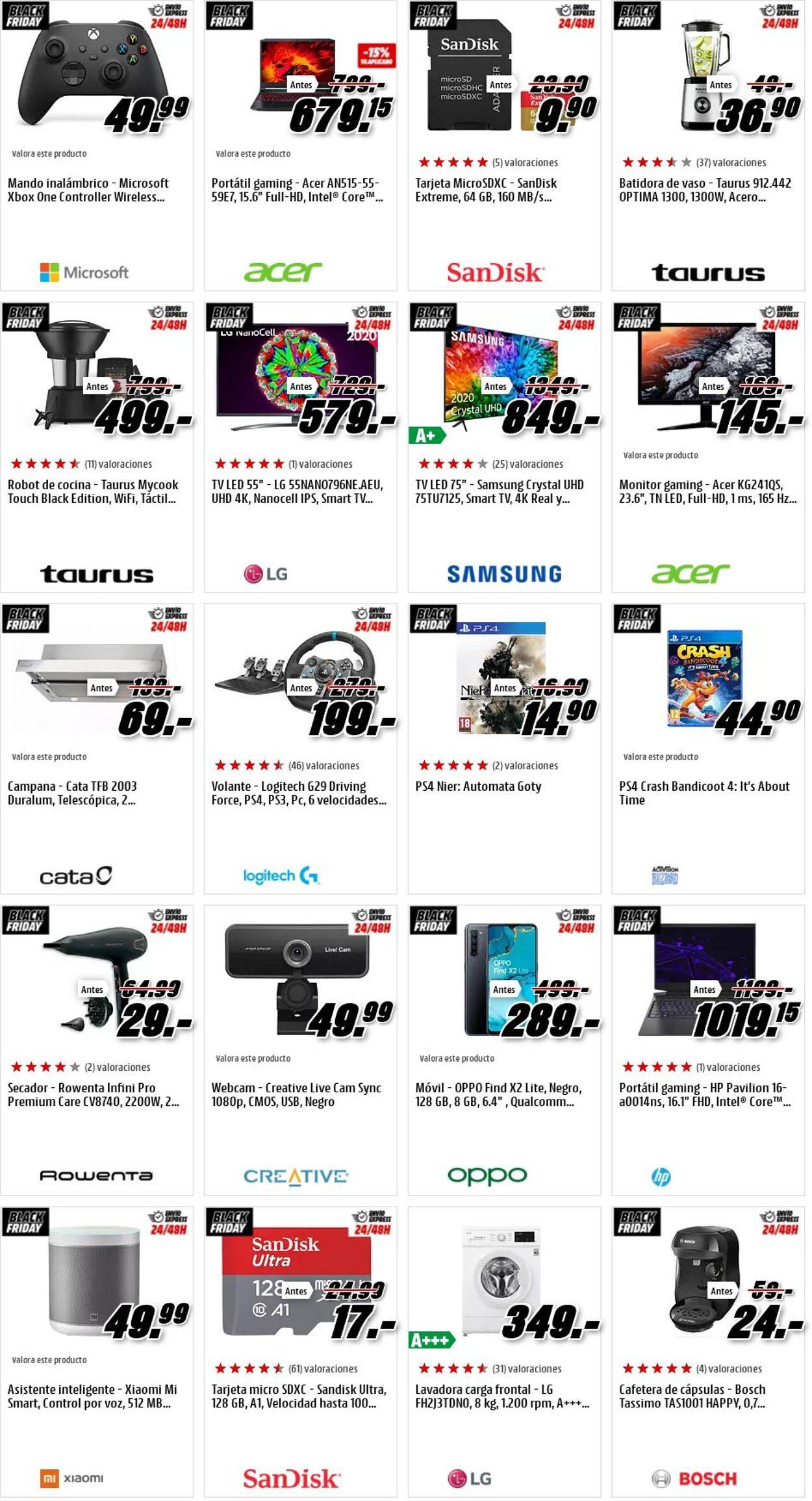 Media Markt Black Friday 2020 Folleto - 27.11-03.12.2020 (Página 12)