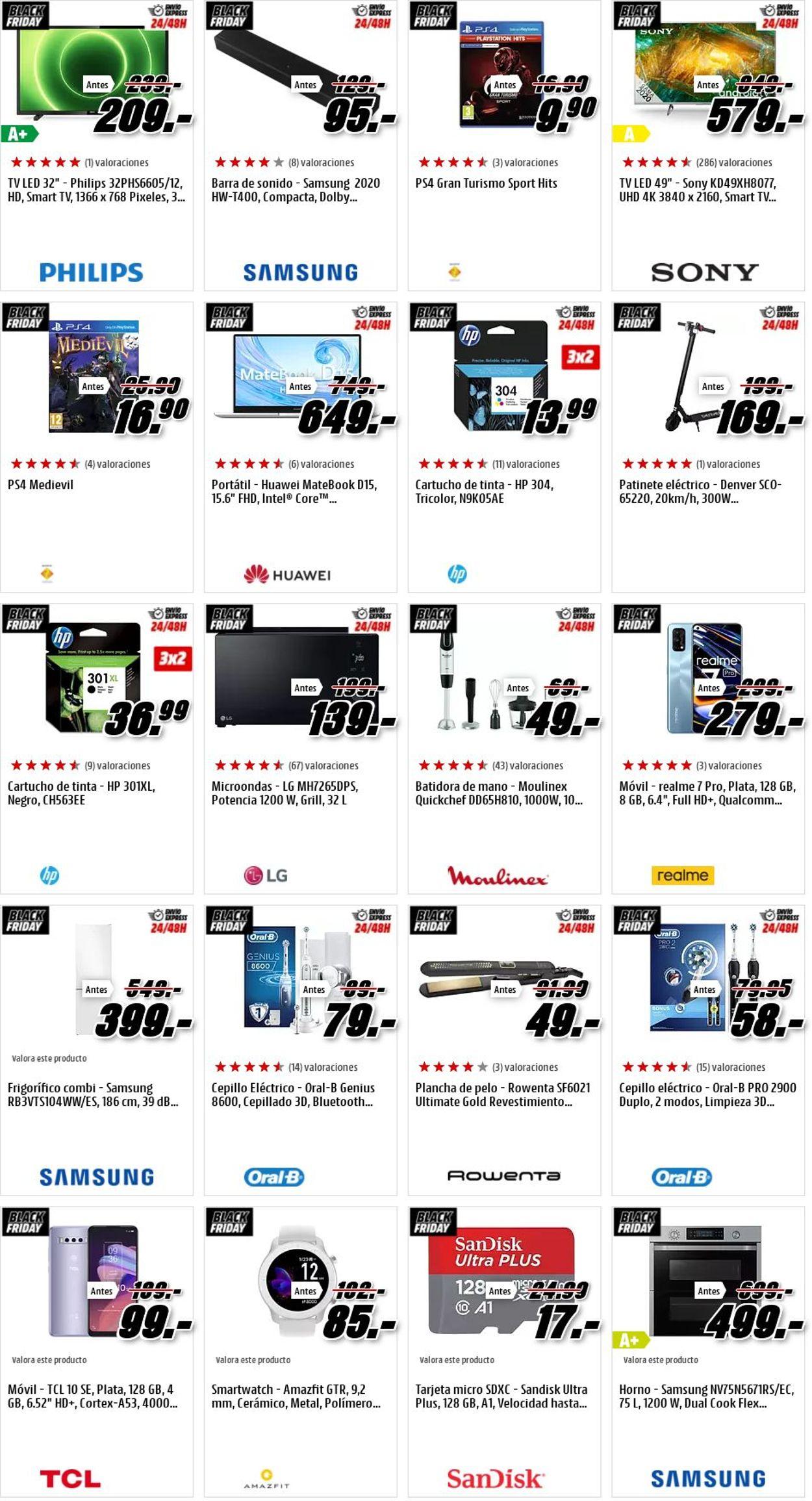 Media Markt Black Friday 2020 Folleto - 27.11-03.12.2020 (Página 14)