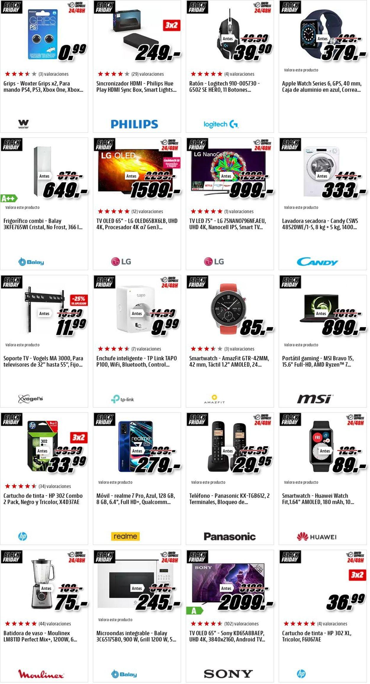 Media Markt Black Friday 2020 Folleto - 27.11-03.12.2020 (Página 20)