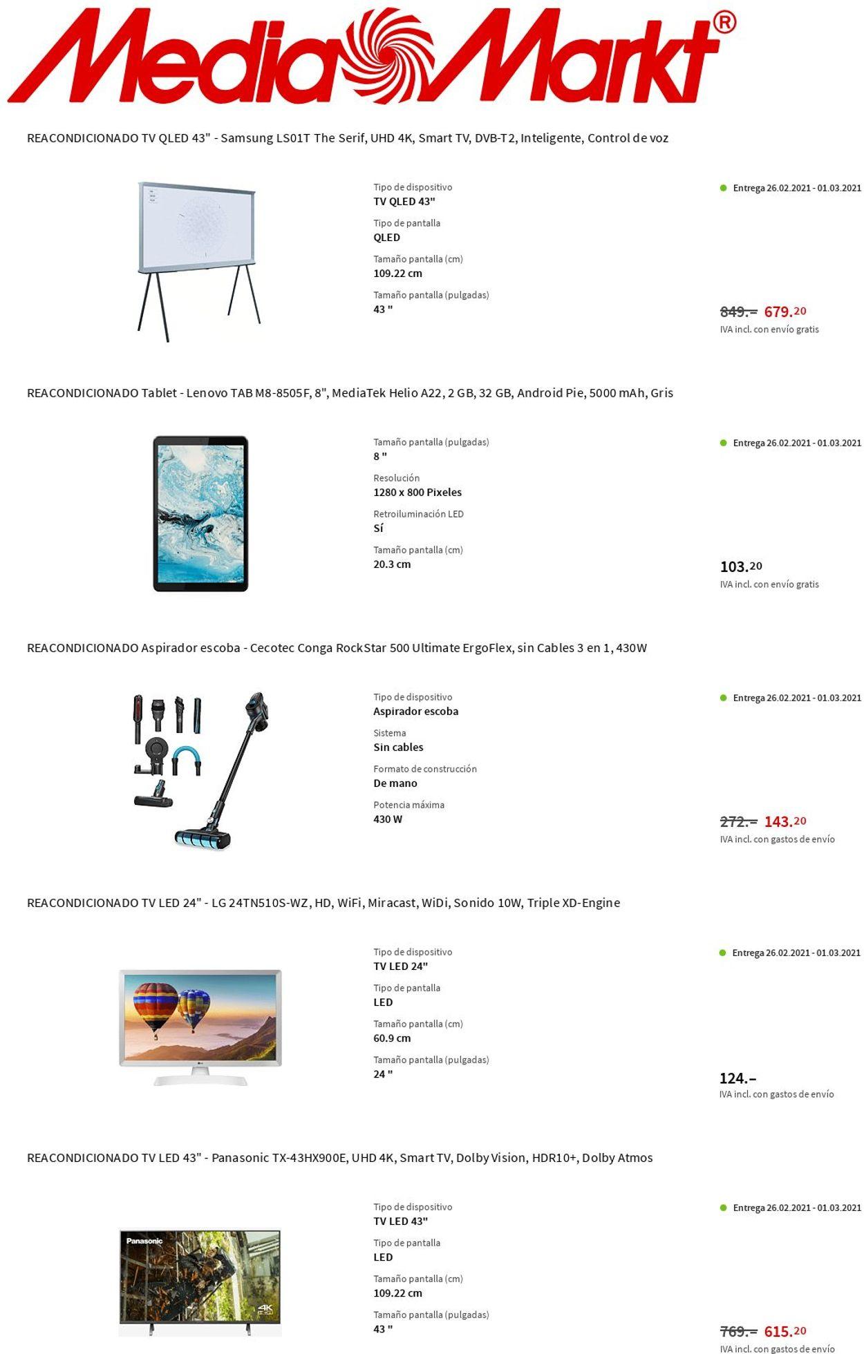 Media Markt Folleto - 25.02-03.03.2021 (Página 8)