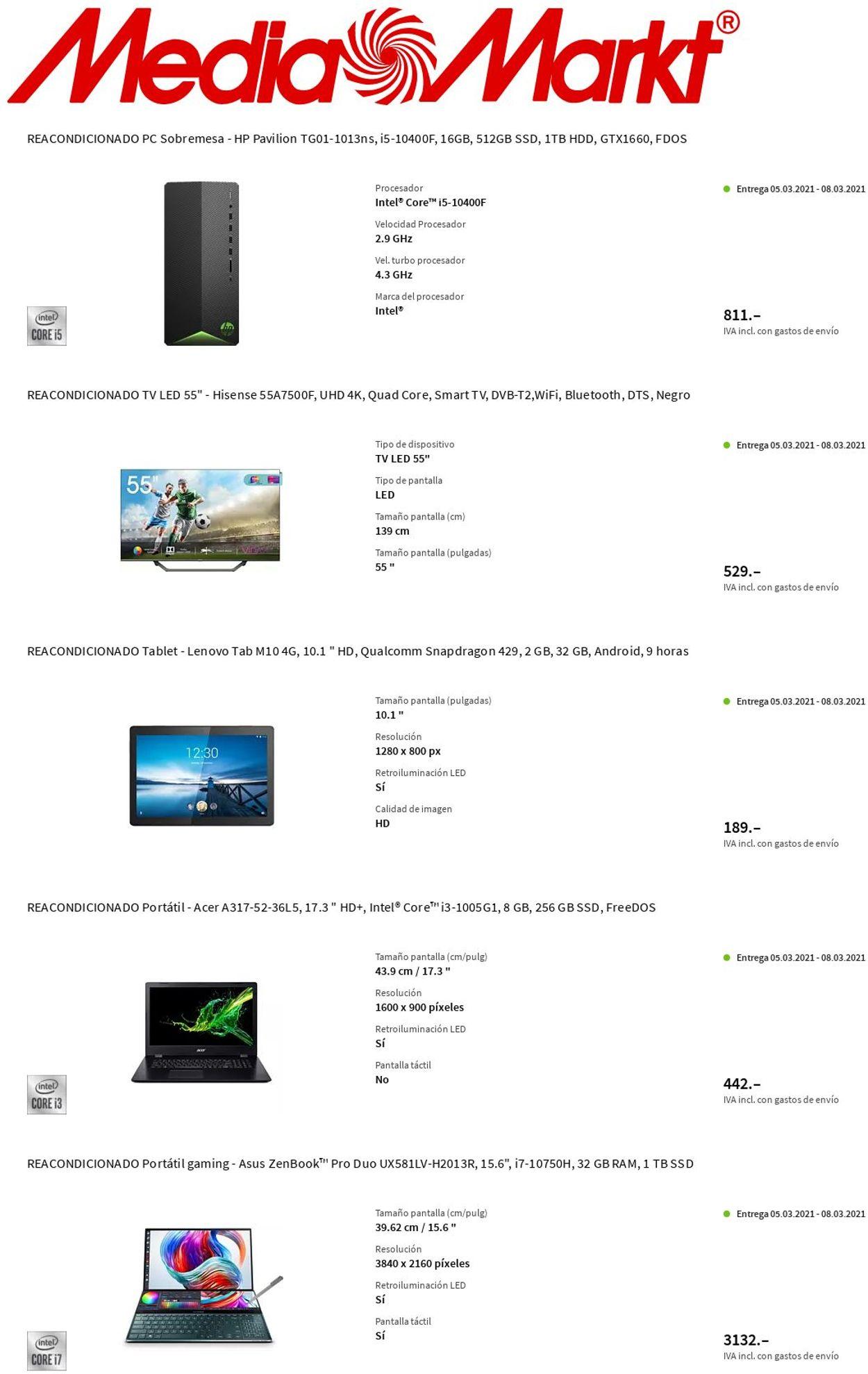 Media Markt Folleto - 04.03-10.03.2021 (Página 2)