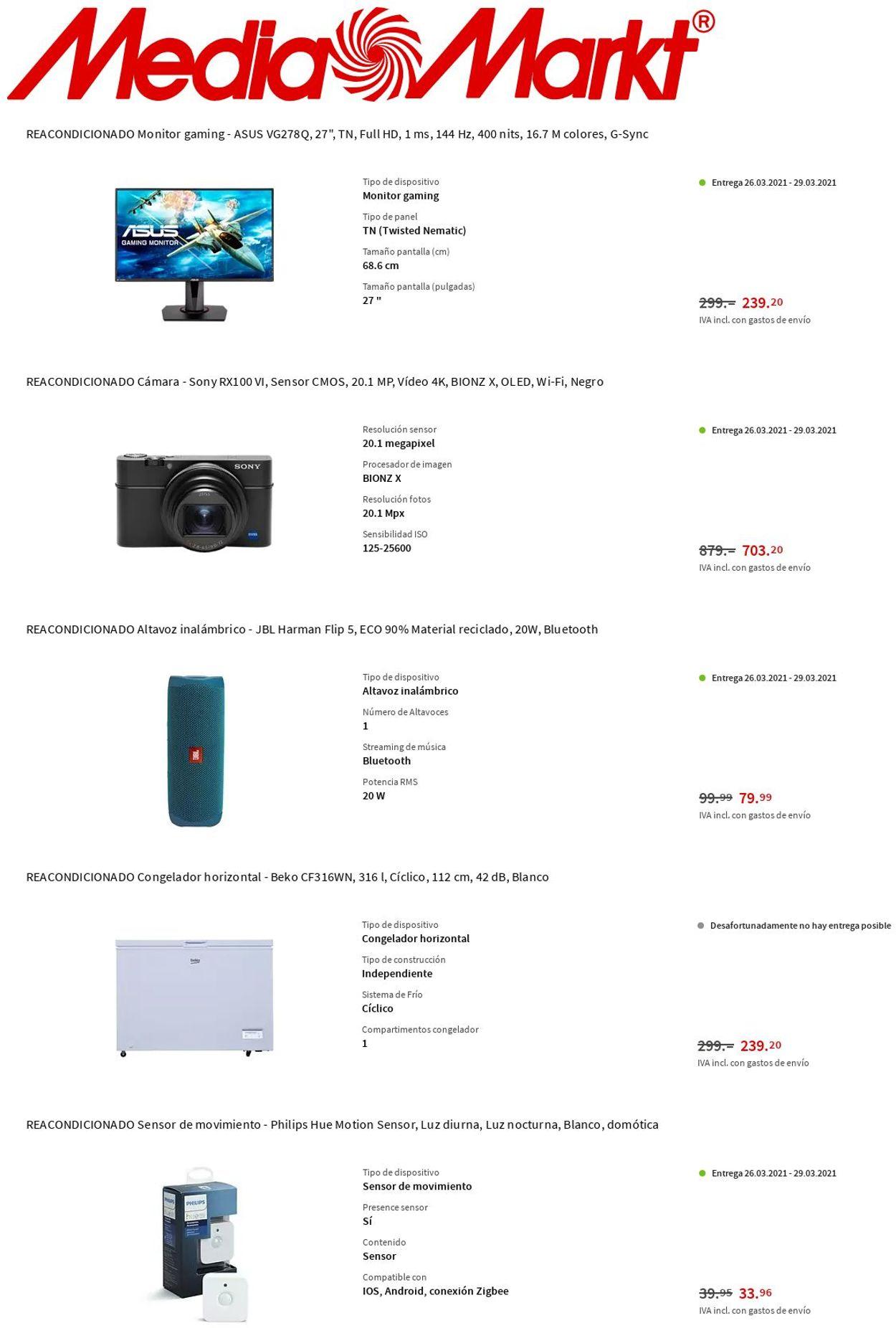 Media Markt Folleto - 25.03-31.03.2021 (Página 8)