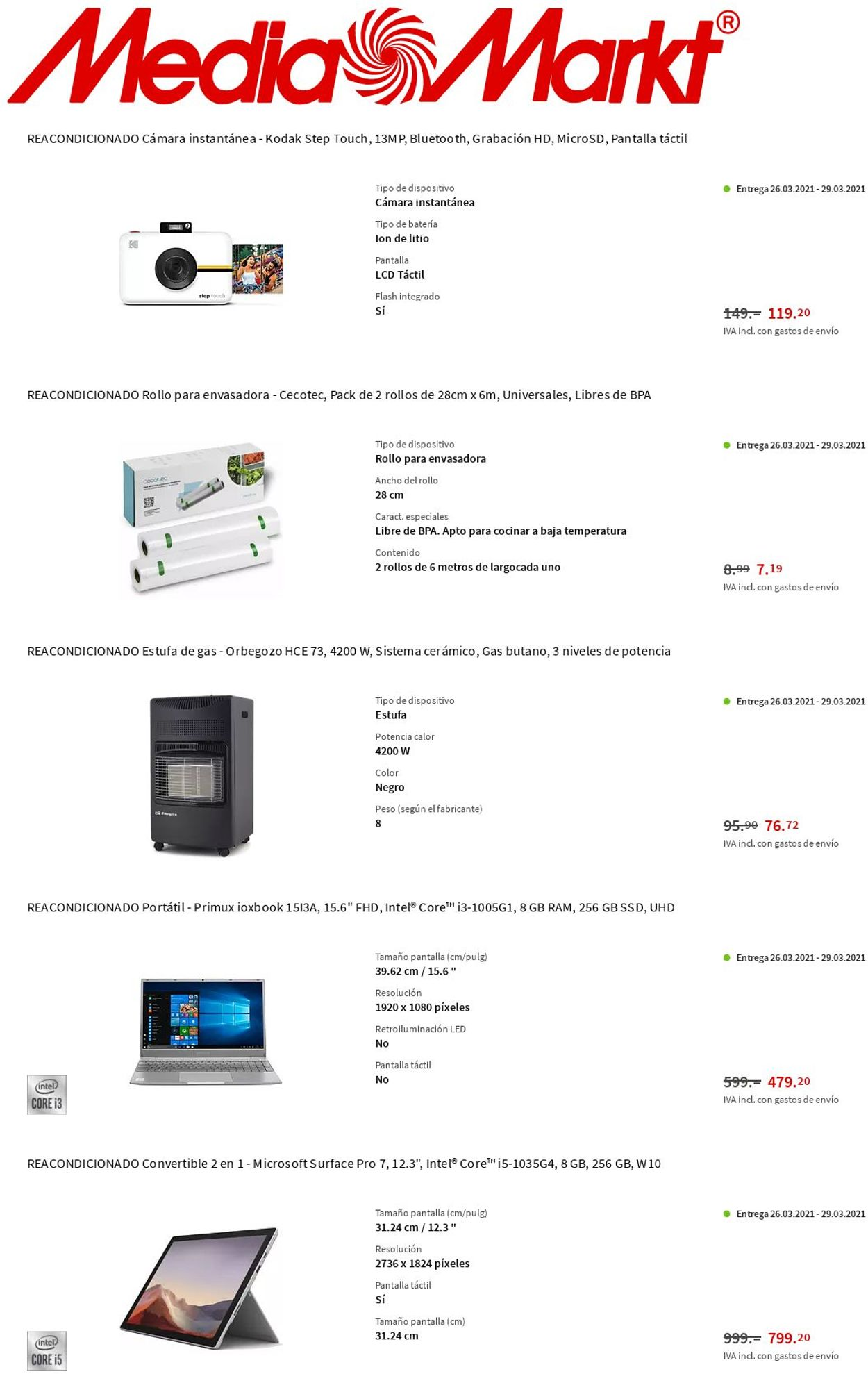 Media Markt Folleto - 25.03-31.03.2021 (Página 10)