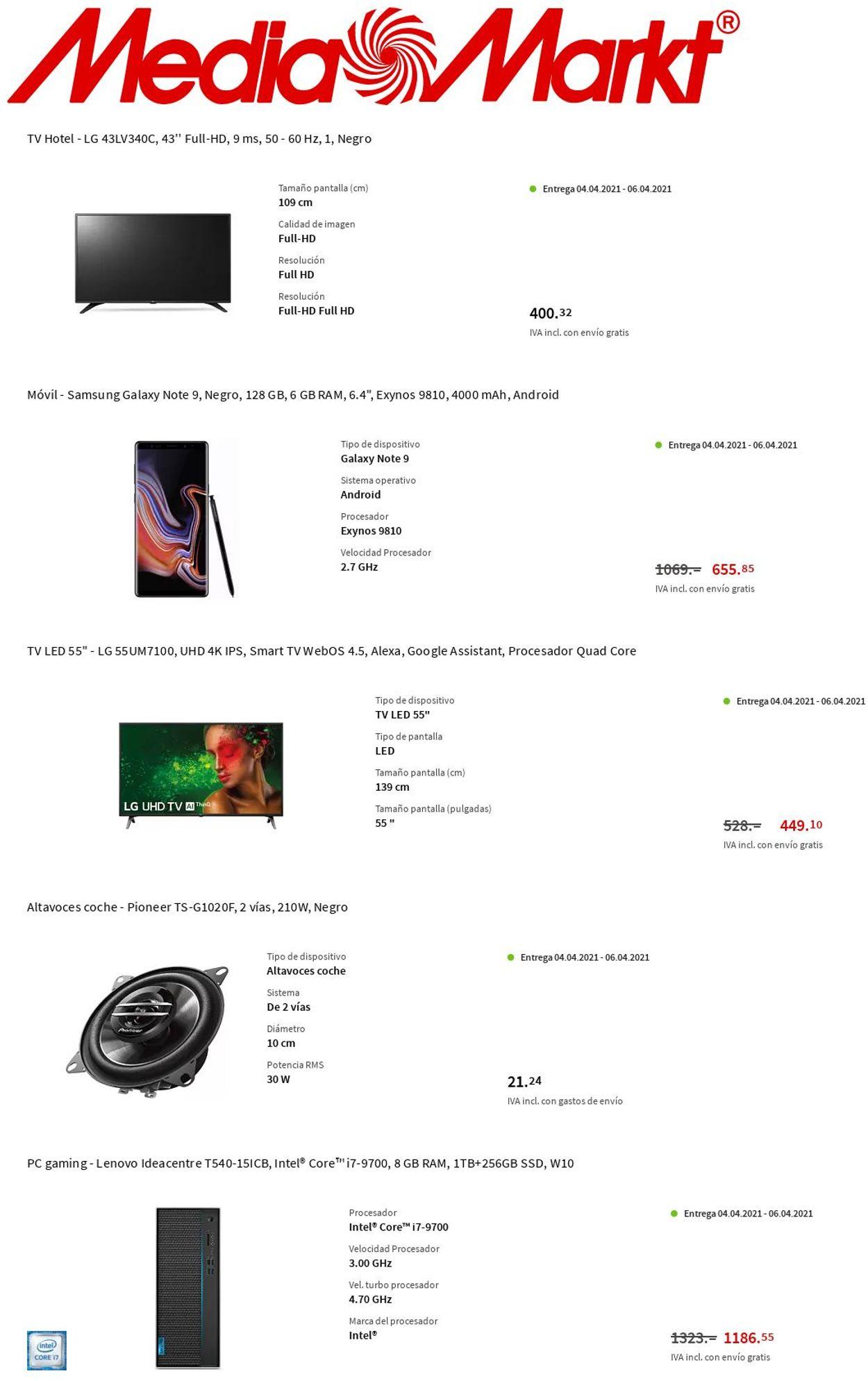 Media Markt Folleto - 01.04-07.04.2021 (Página 4)