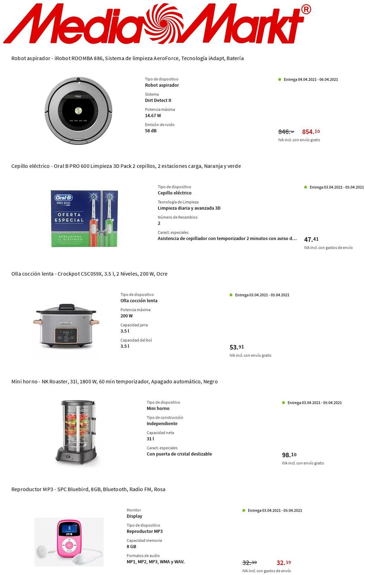 Media Markt Folleto - 01.04-07.04.2021 (Página 8)