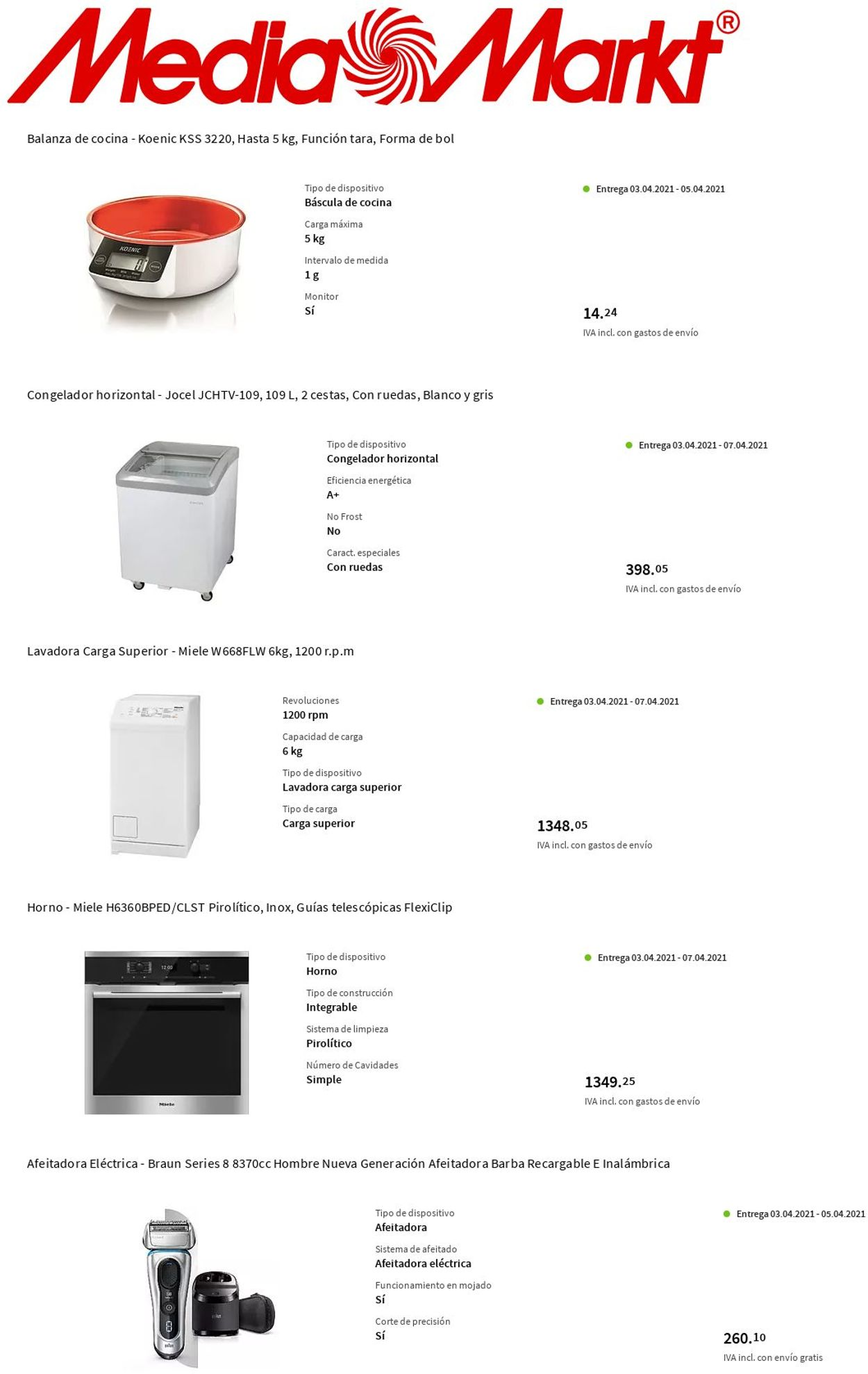 Media Markt Folleto - 01.04-07.04.2021 (Página 9)