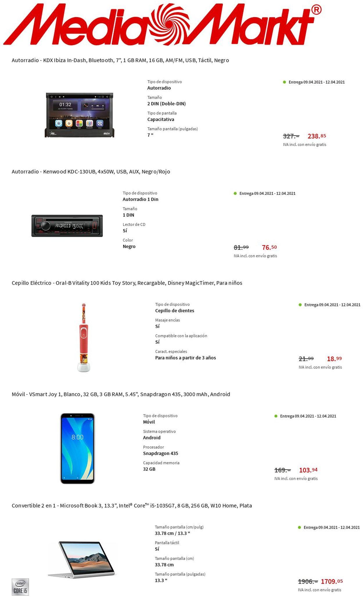 Media Markt Folleto - 08.04-14.04.2021 (Página 11)