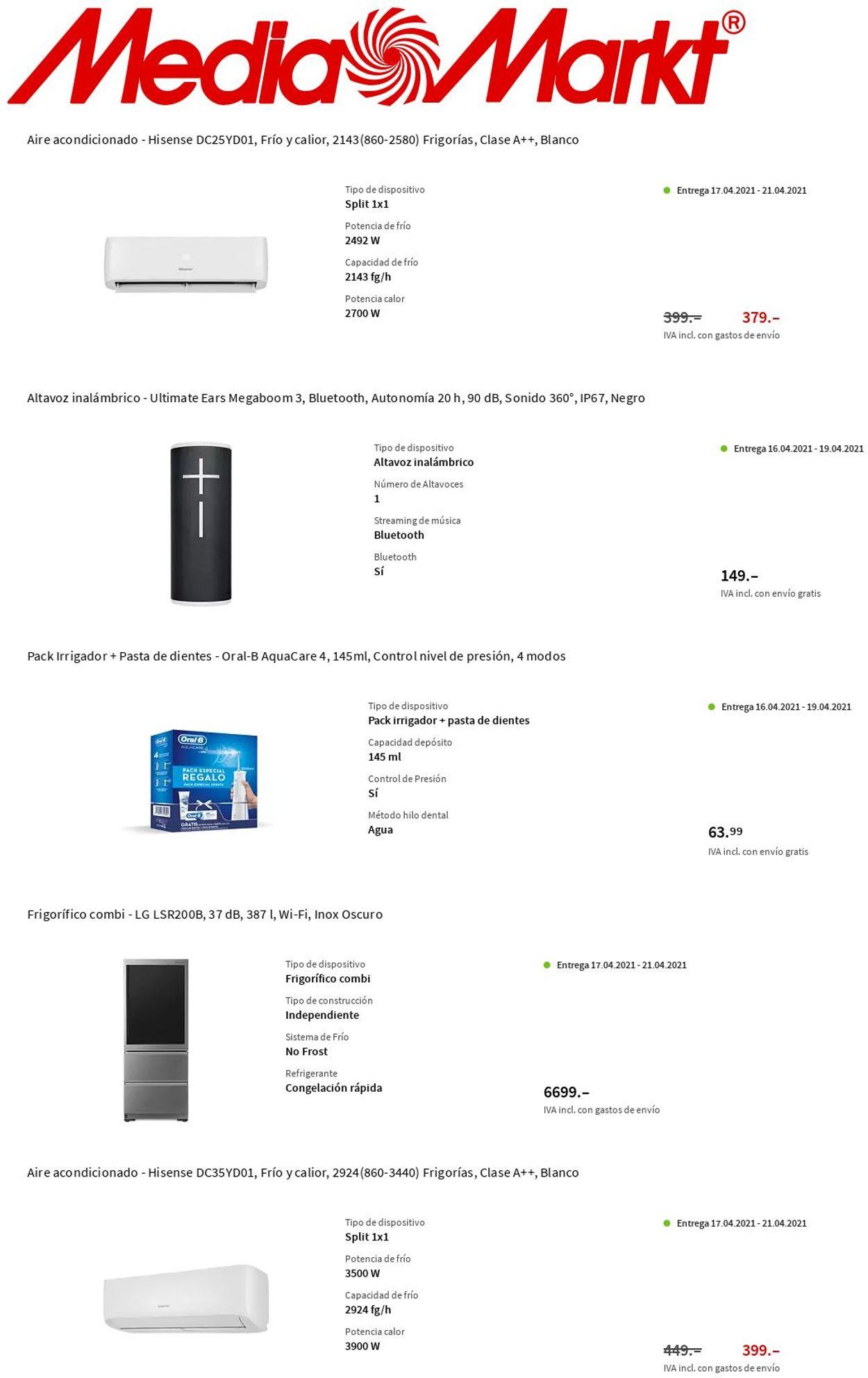 Media Markt Folleto - 15.04-21.04.2021
