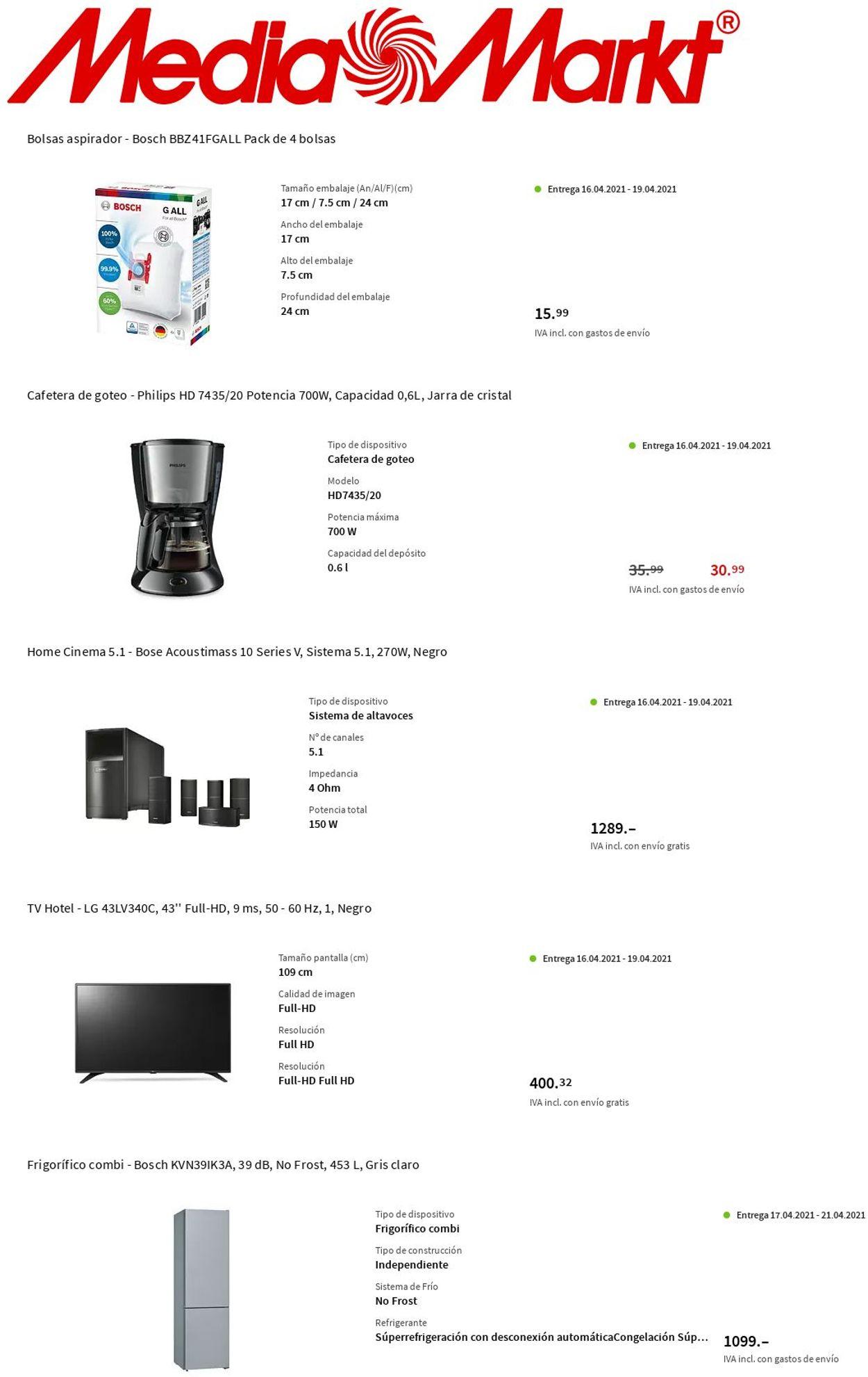Media Markt Folleto - 15.04-21.04.2021 (Página 3)