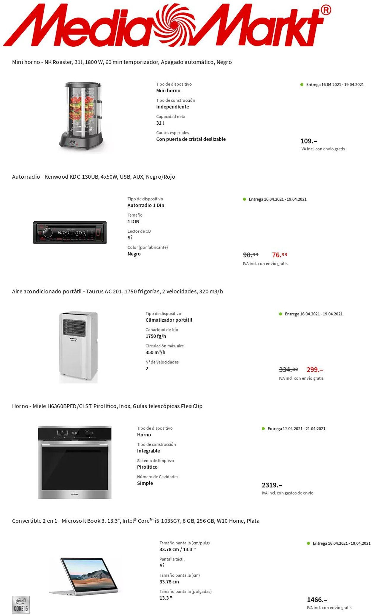 Media Markt Folleto - 15.04-21.04.2021 (Página 11)