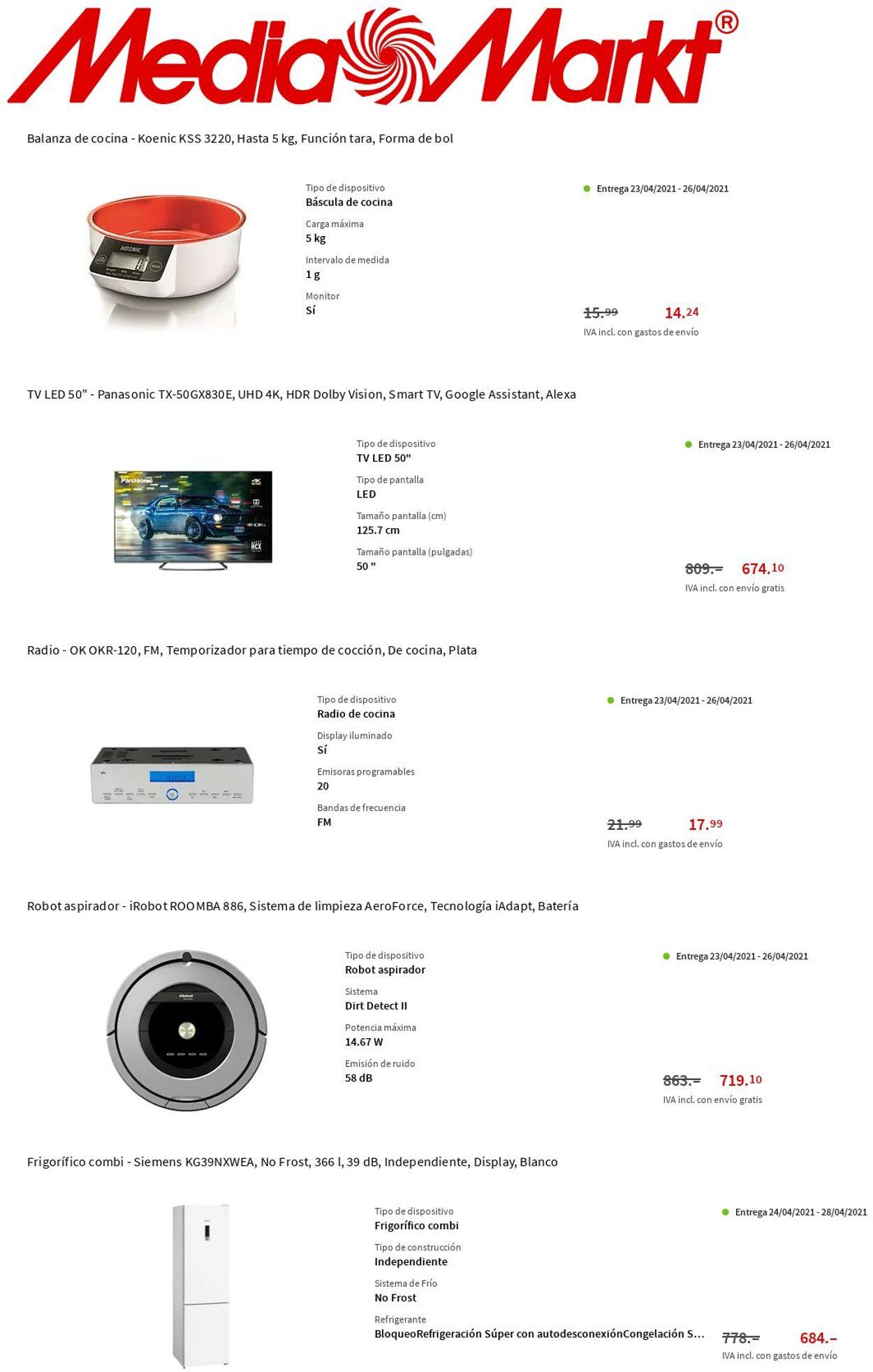 Media Markt Folleto - 22.04-28.04.2021 (Página 10)