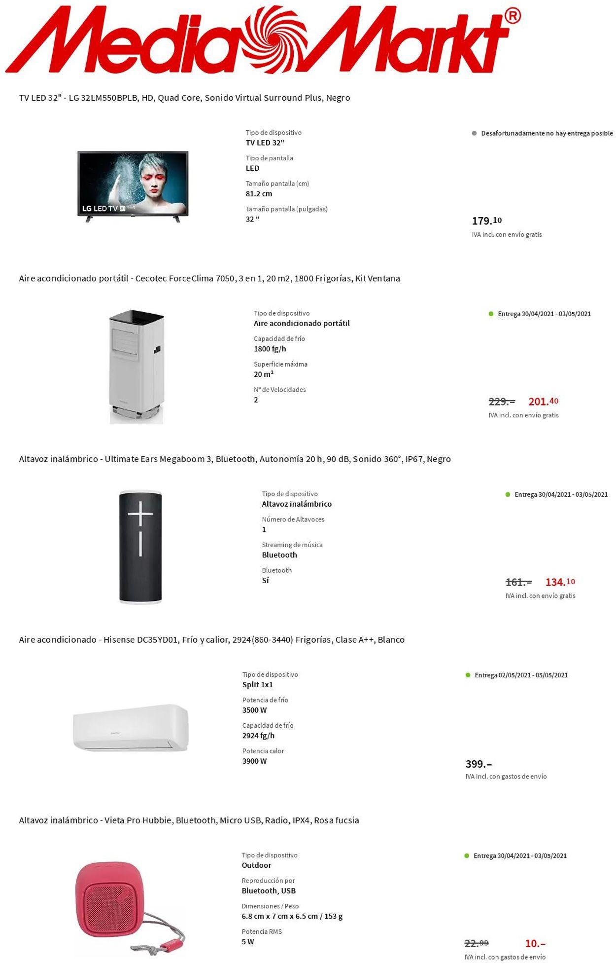 Media Markt Folleto - 29.04-05.05.2021