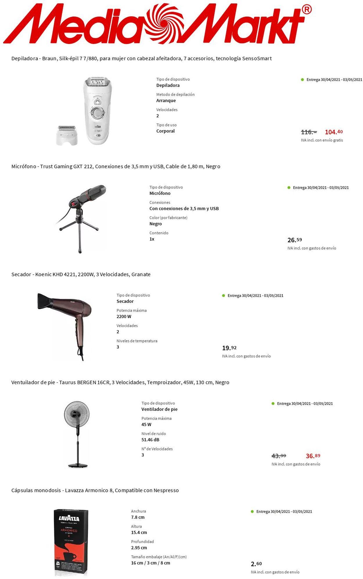 Media Markt Folleto - 29.04-05.05.2021 (Página 5)