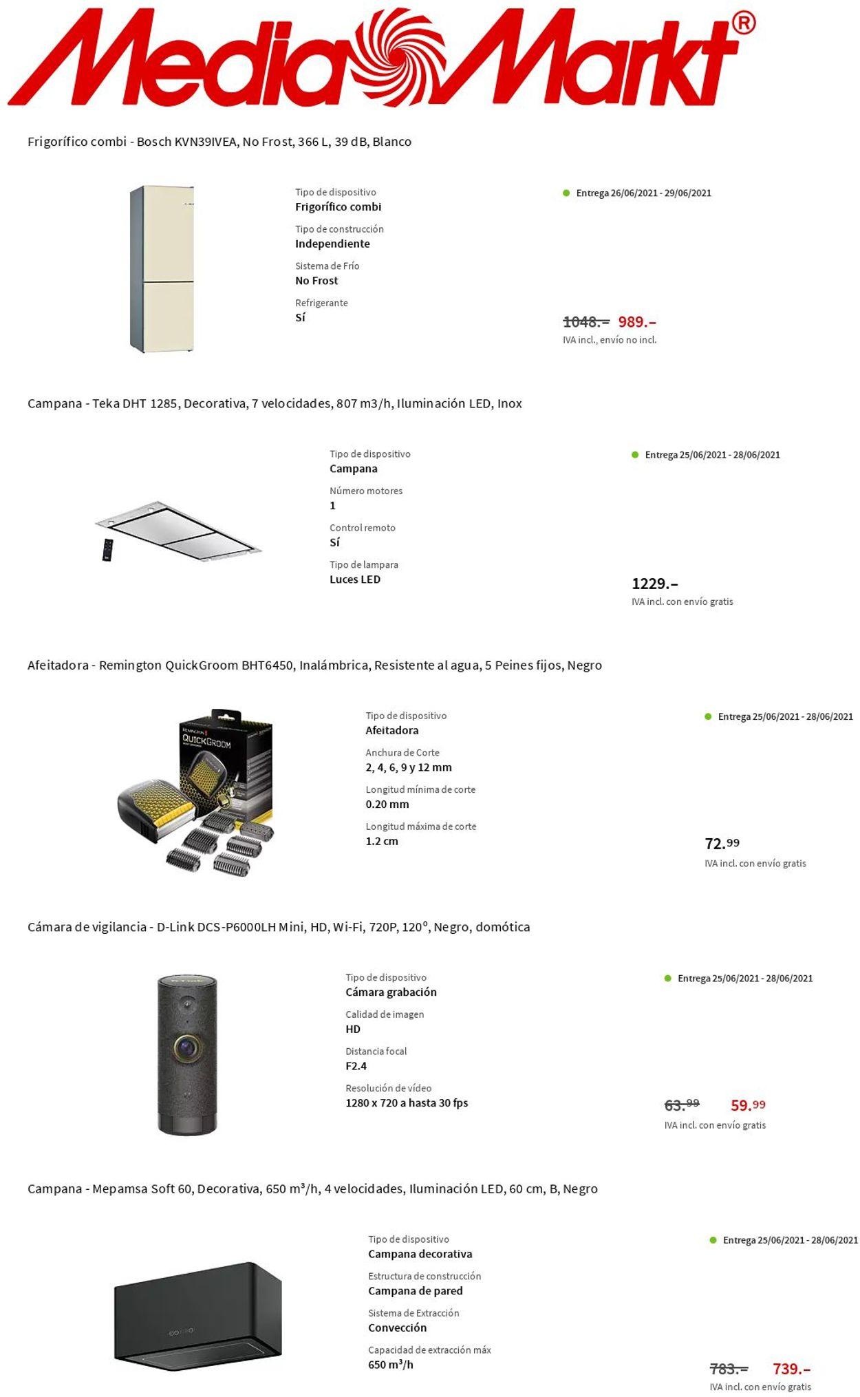 Media Markt Folleto - 24.06-30.06.2021 (Página 8)