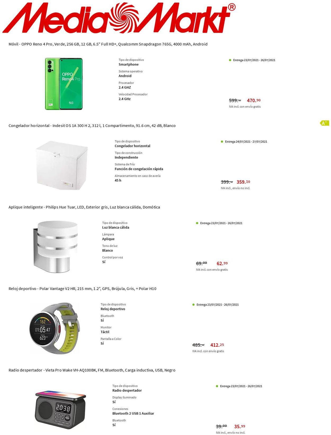 Media Markt Folleto - 22.07-28.07.2021 (Página 2)