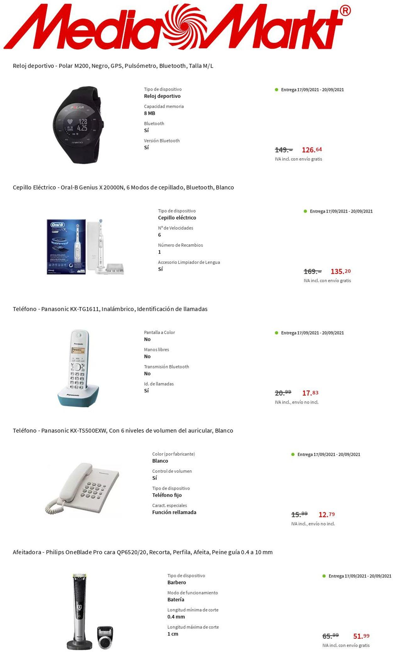 Media Markt Folleto - 16.09-22.09.2021