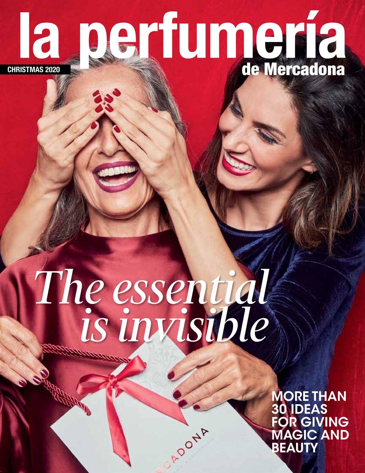 Mercadona Christmas 2020 Folleto - 27.11-20.01.2021