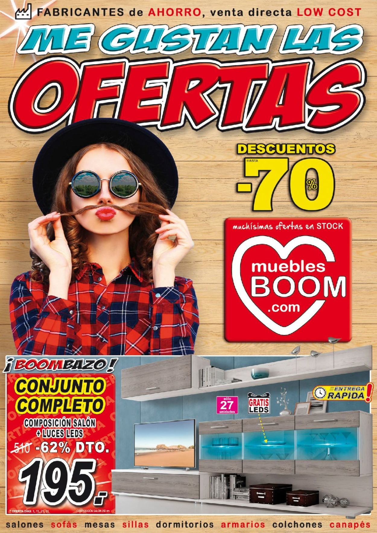 Muebles BOOM Folleto - 01.04-30.04.2019