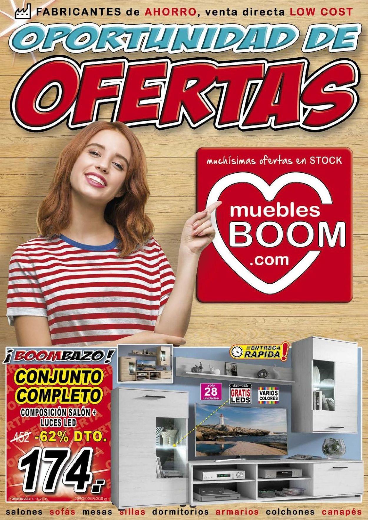 Muebles BOOM Folleto - 01.07-31.08.2019