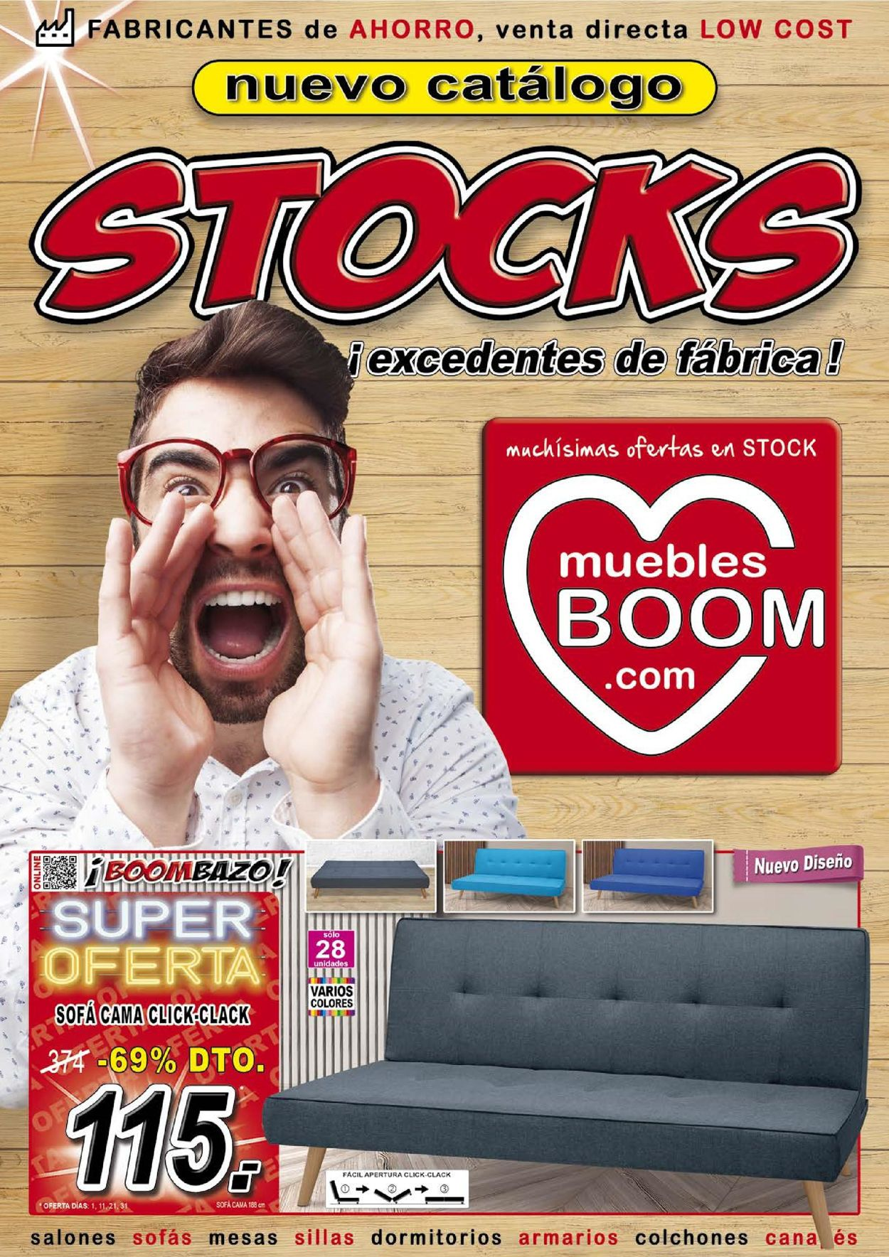 Muebles BOOM Folleto - 01.03-30.04.2020