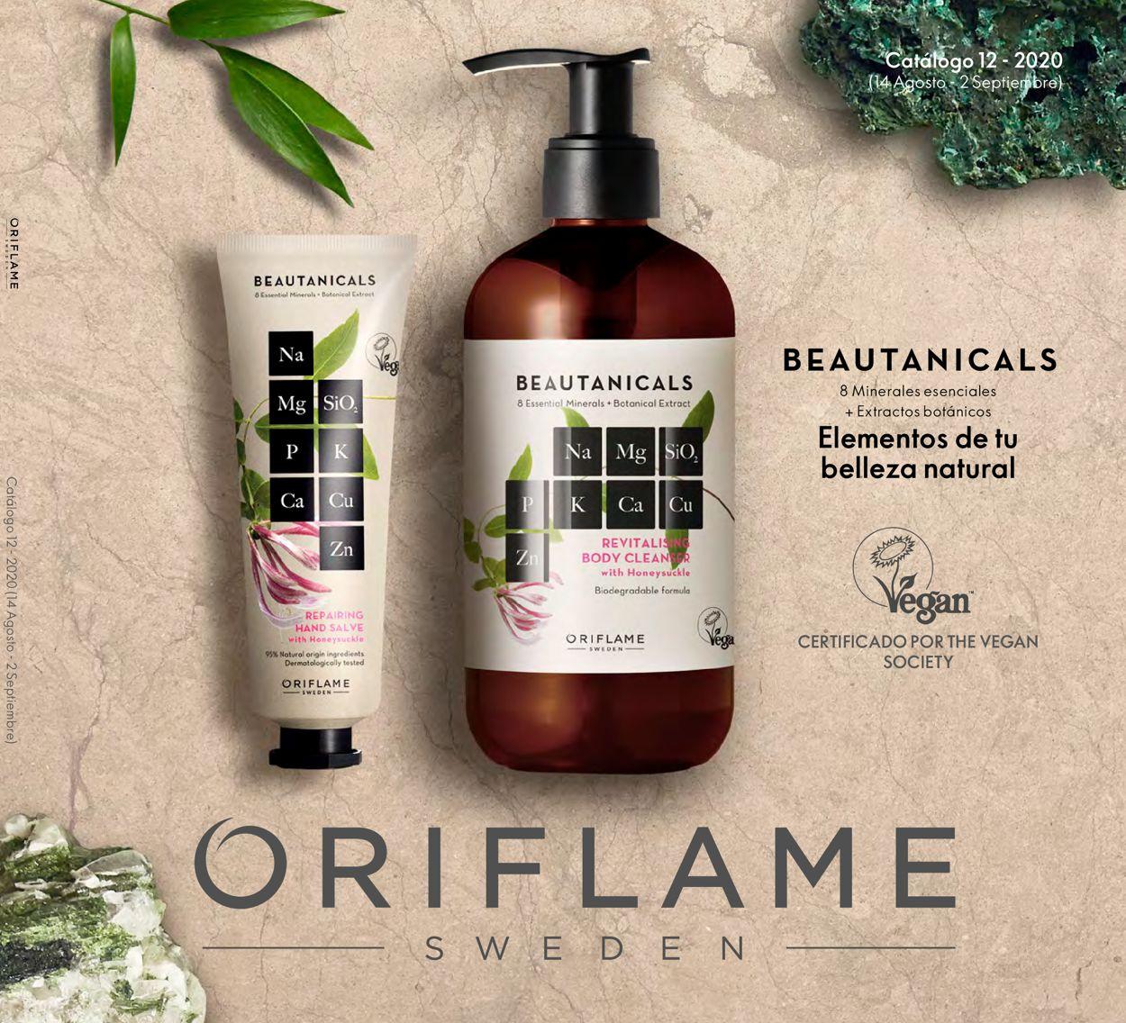 Oriflame Folleto - 14.08-02.09.2020