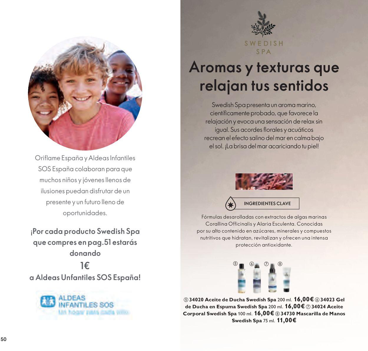 Oriflame Folleto - 14.08-02.09.2020 (Página 50)