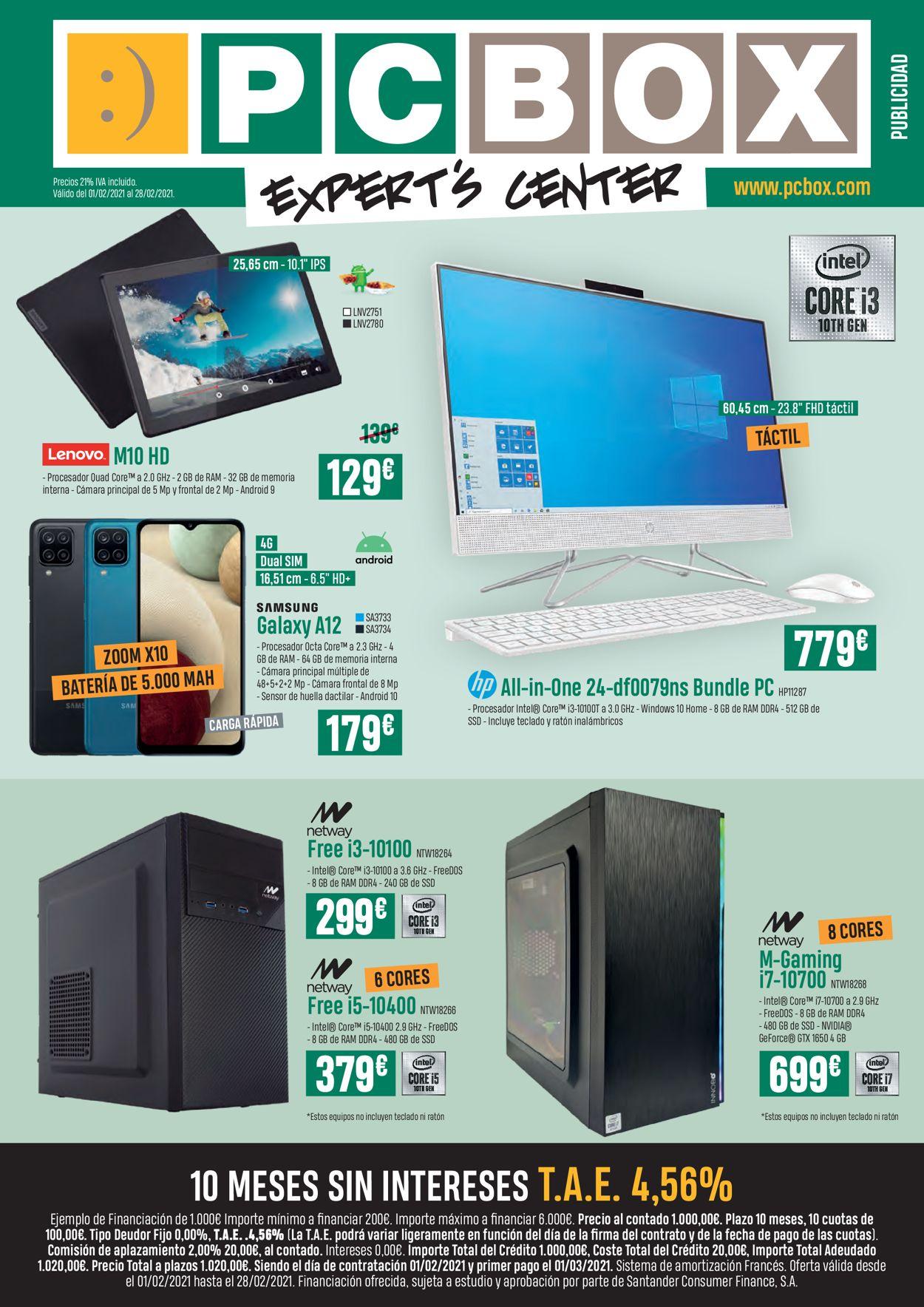 PC Box Folleto - 01.02-28.02.2021