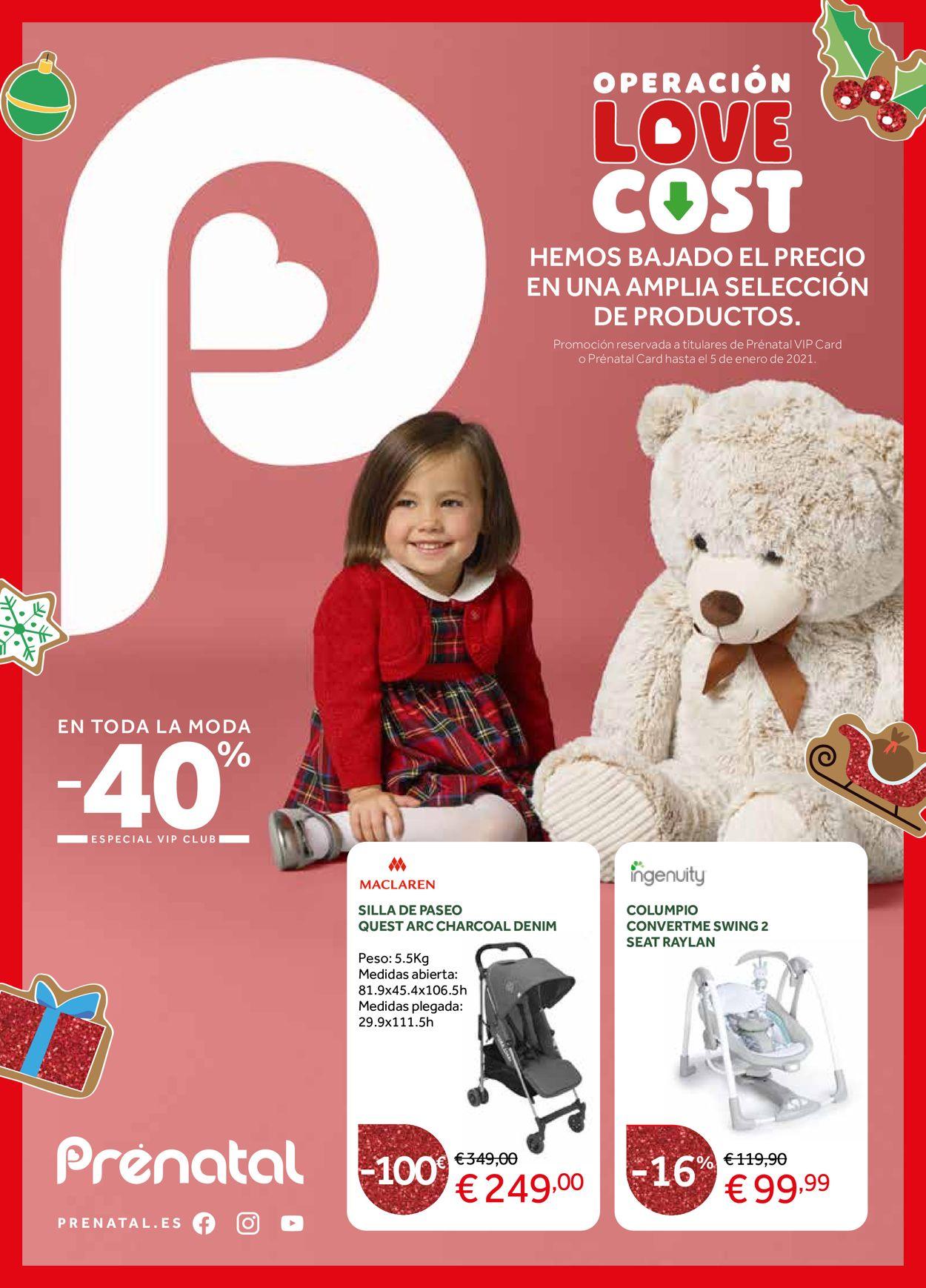 Prenatal Navidad 2020 Folleto - 26.11-05.01.2021