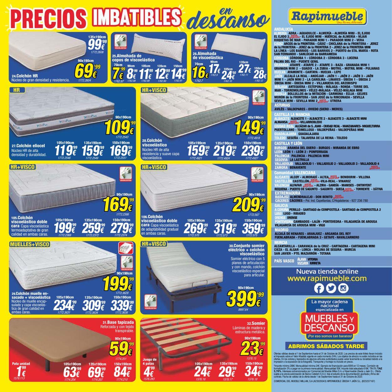 Rapimueble Folleto - 01.09-31.10.2020 (Página 4)
