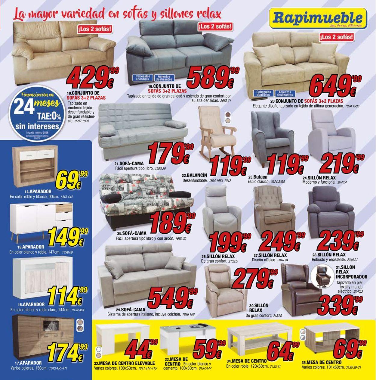 Rapimueble Folleto - 08.03-31.05.2021 (Página 3)